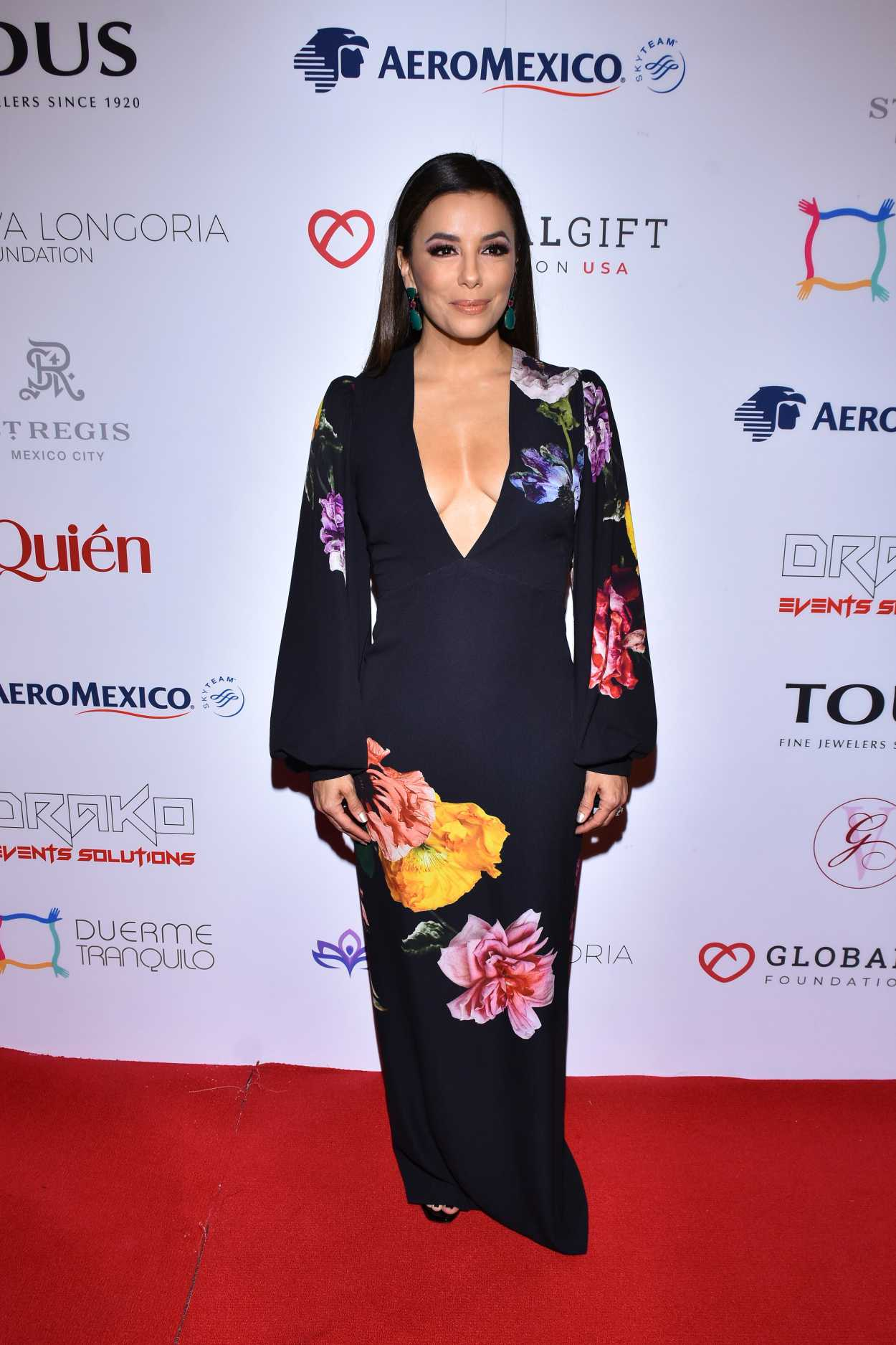 Eva Longoria Attends the 5th Global Gift Foundation Gala in Mexico City 11/19/2019