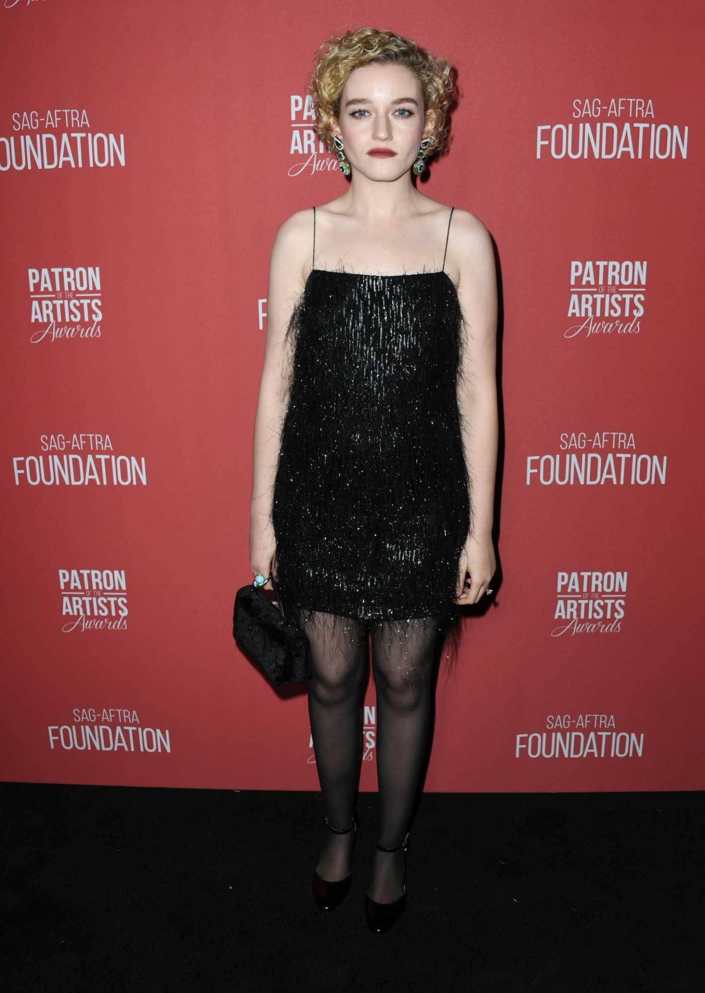 Julia Garner Attends the 4th Annual Patron of the Artists Awards in Los Angeles 11/07/2019