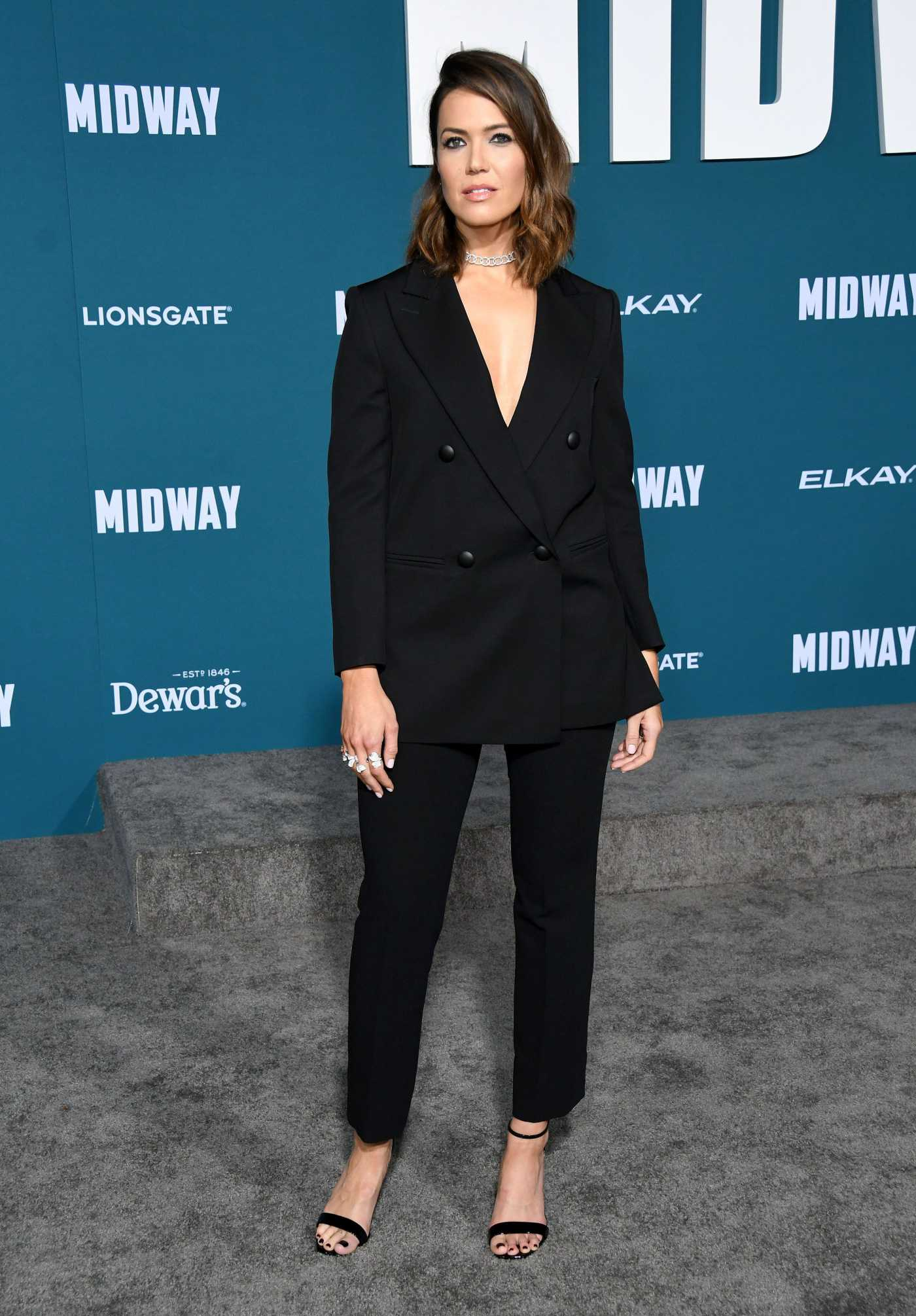 Mandy Moore Attends the Midway Premiere at Regency Village Theatre in Westwood 11/05/2019