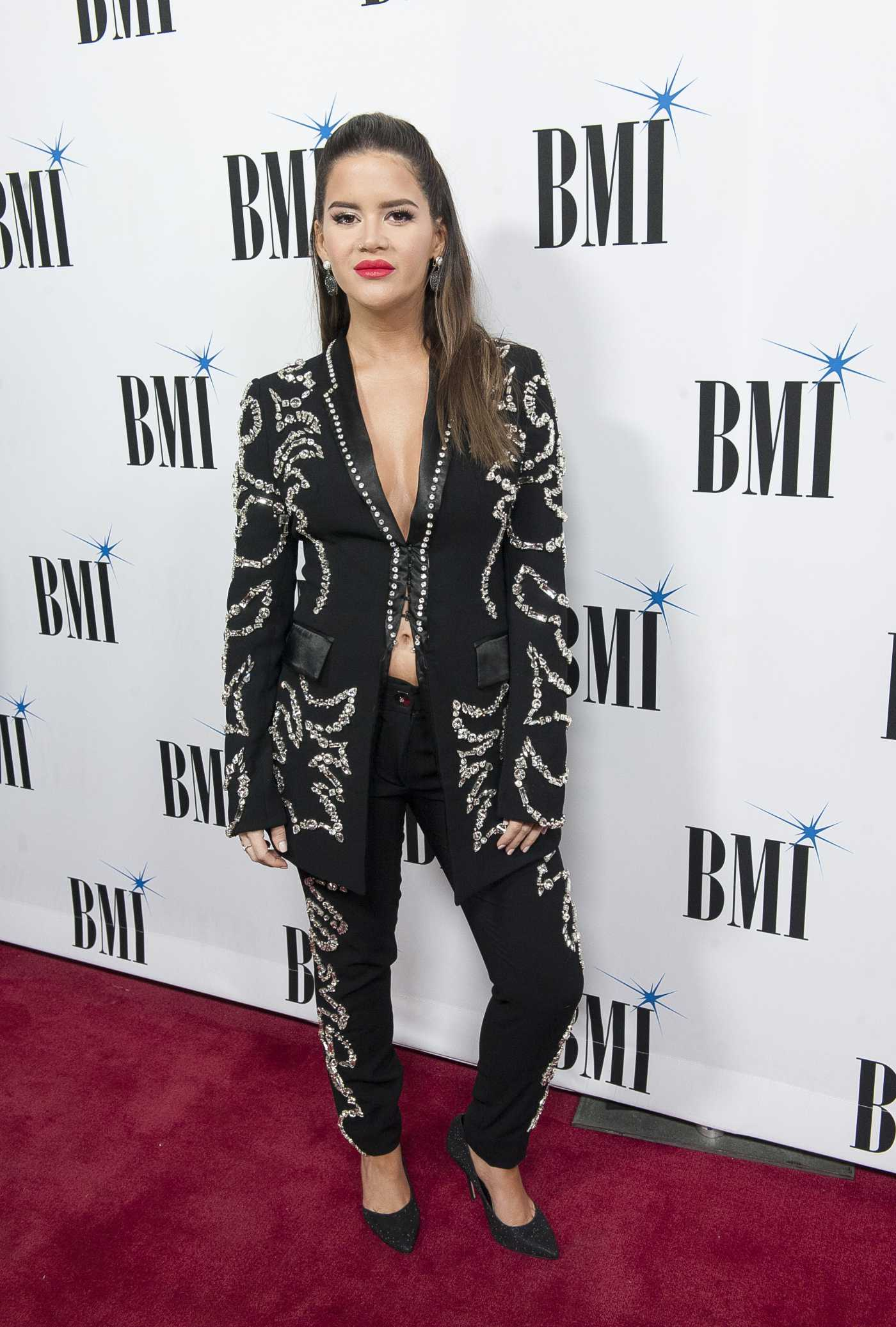 Maren Morris Attends the 67th Annual BMI Country Awards in Nashville 11/12/2019