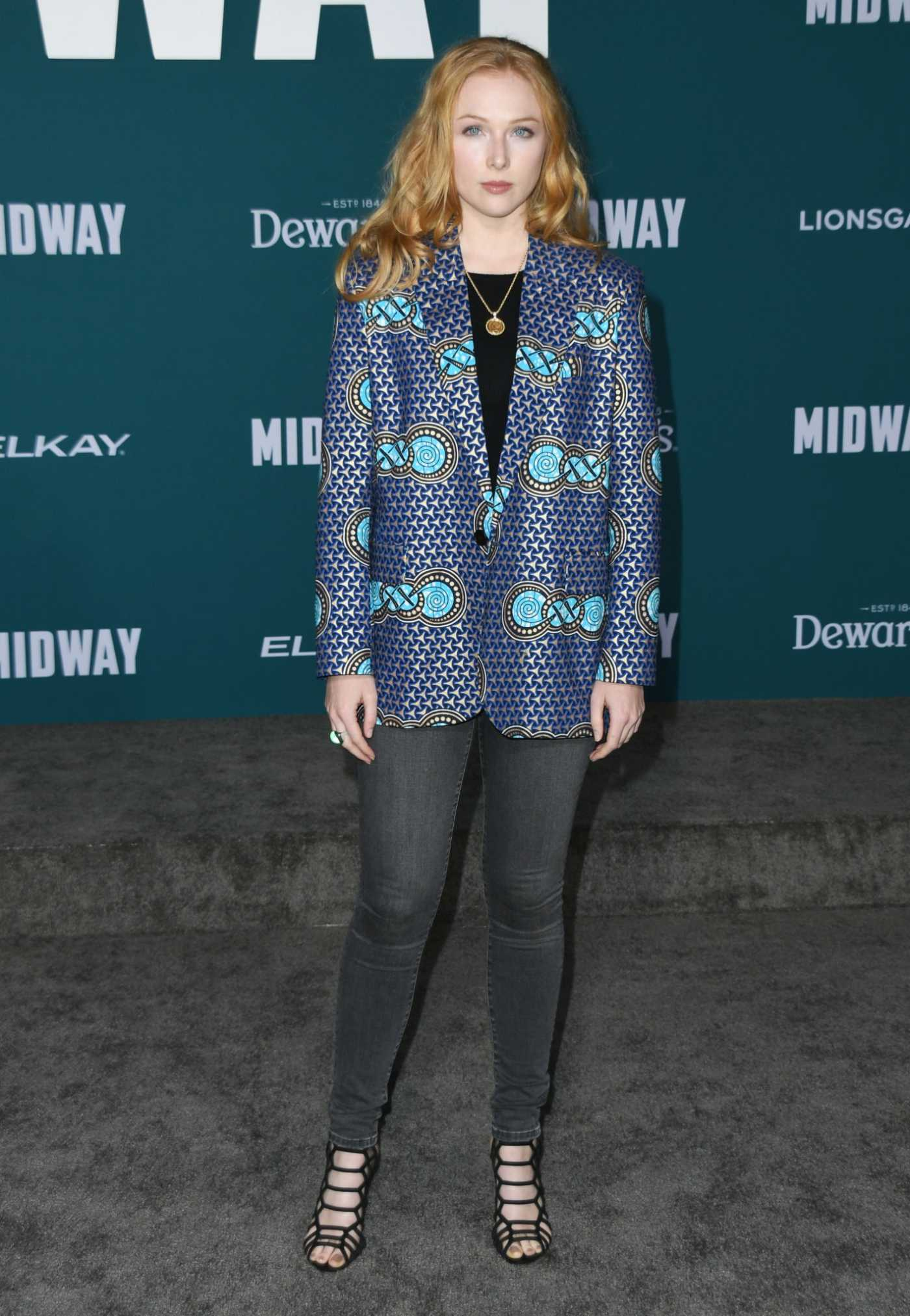 Molly Quinn Attends the Midway Premiere at Regency Village Theatre in Westwood 11/05/2019