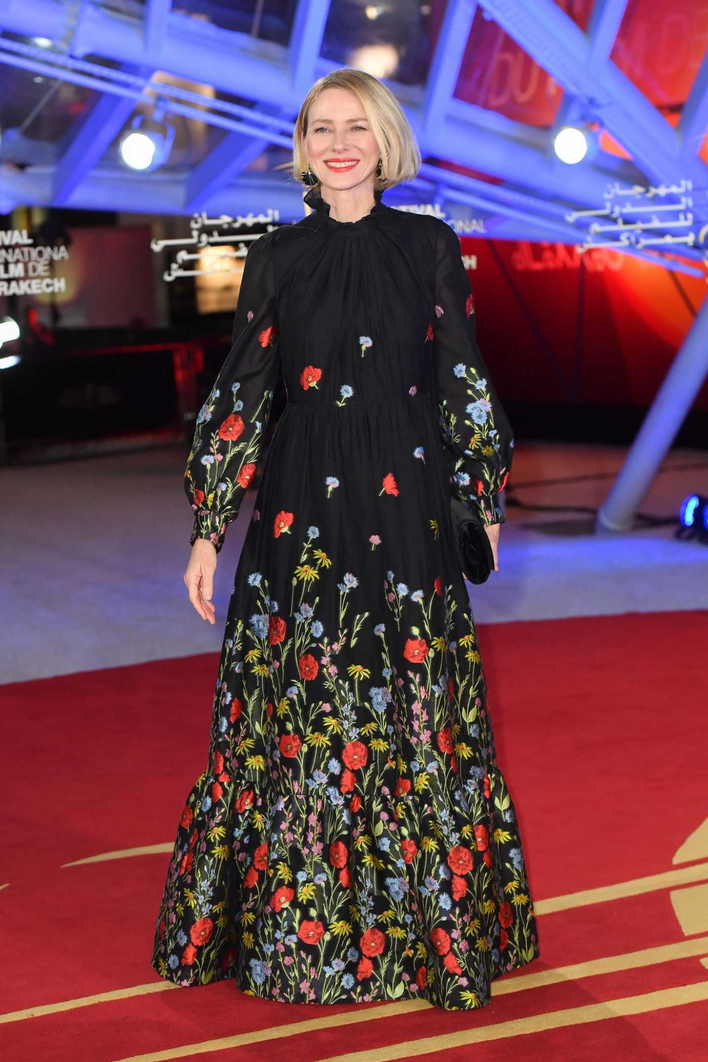 Naomi Watts Attends the 18th Marrakech International Film Festival Opening Ceremony in Marrakech 11/29/2019