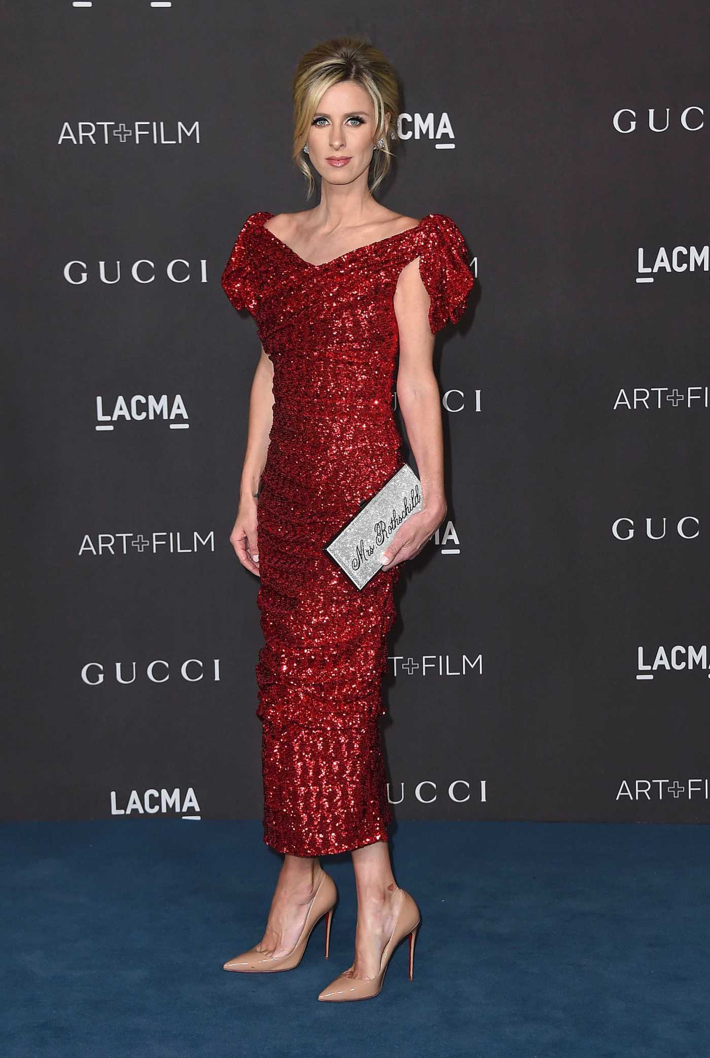 Nicky Hilton Attends 2019 LACMA Art + Film Gala Honoring Betye Saar And Alfonso Cuaron Presented By Gucci in Los Angeles 11/02/2019