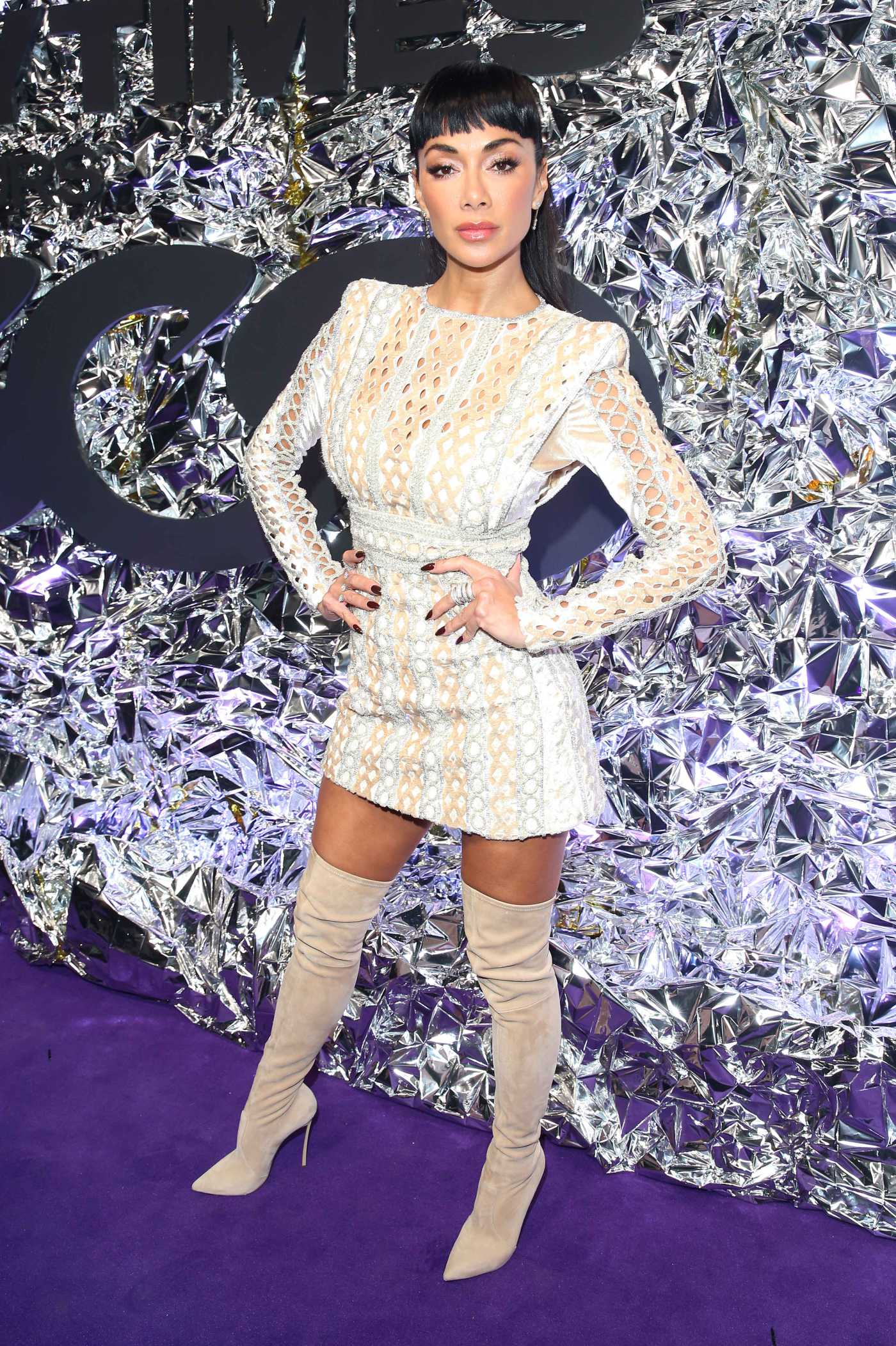 Nicole Scherzinger Attends 2019 Gay Times 500 Honours Awards in London 11/21/2019