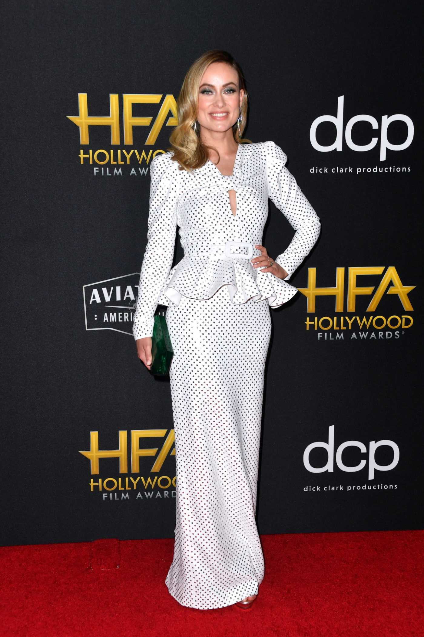 Olivia Wilde Attends the 23rd Annual Hollywood Film Awards at The Beverly Hilton Hotel in Beverly Hills 11/03/2019
