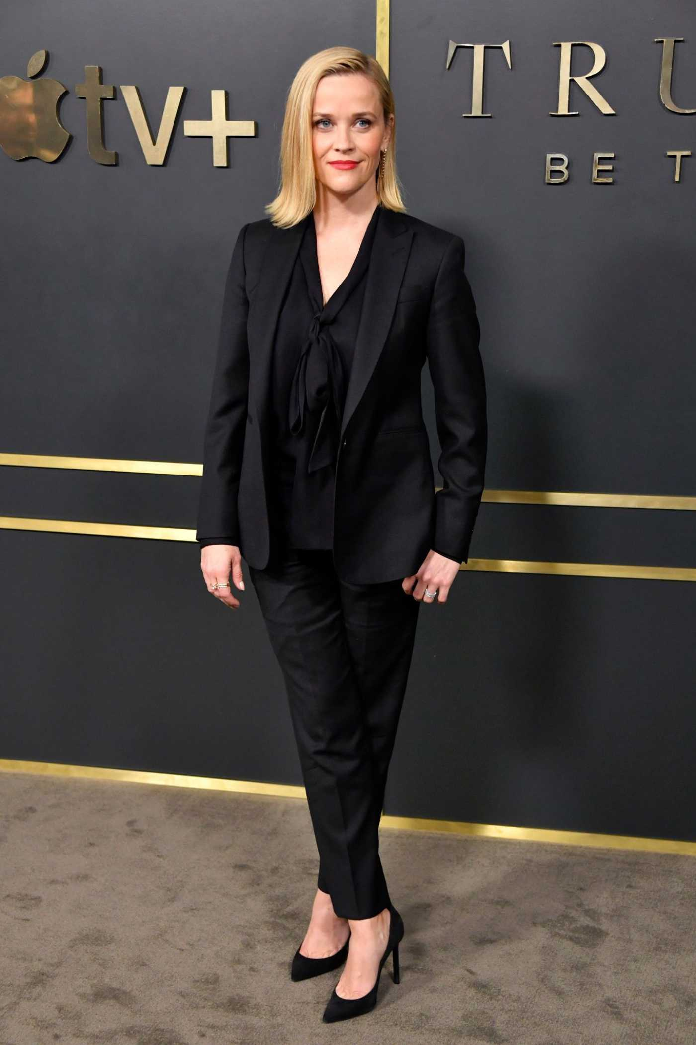 Reese Witherspoon Attends the Truth Be Told Premiere at AMPAS Samuel Goldwyn Theater in Beverly Hills 11/11/2019