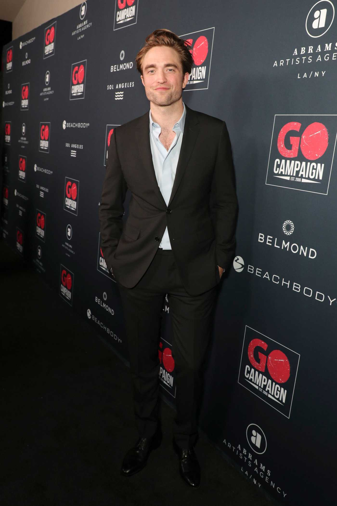 Robert Pattinson Attends GO Campaign's 13th Annual Gala at NeueHouse in Hollywood 11/16/2019