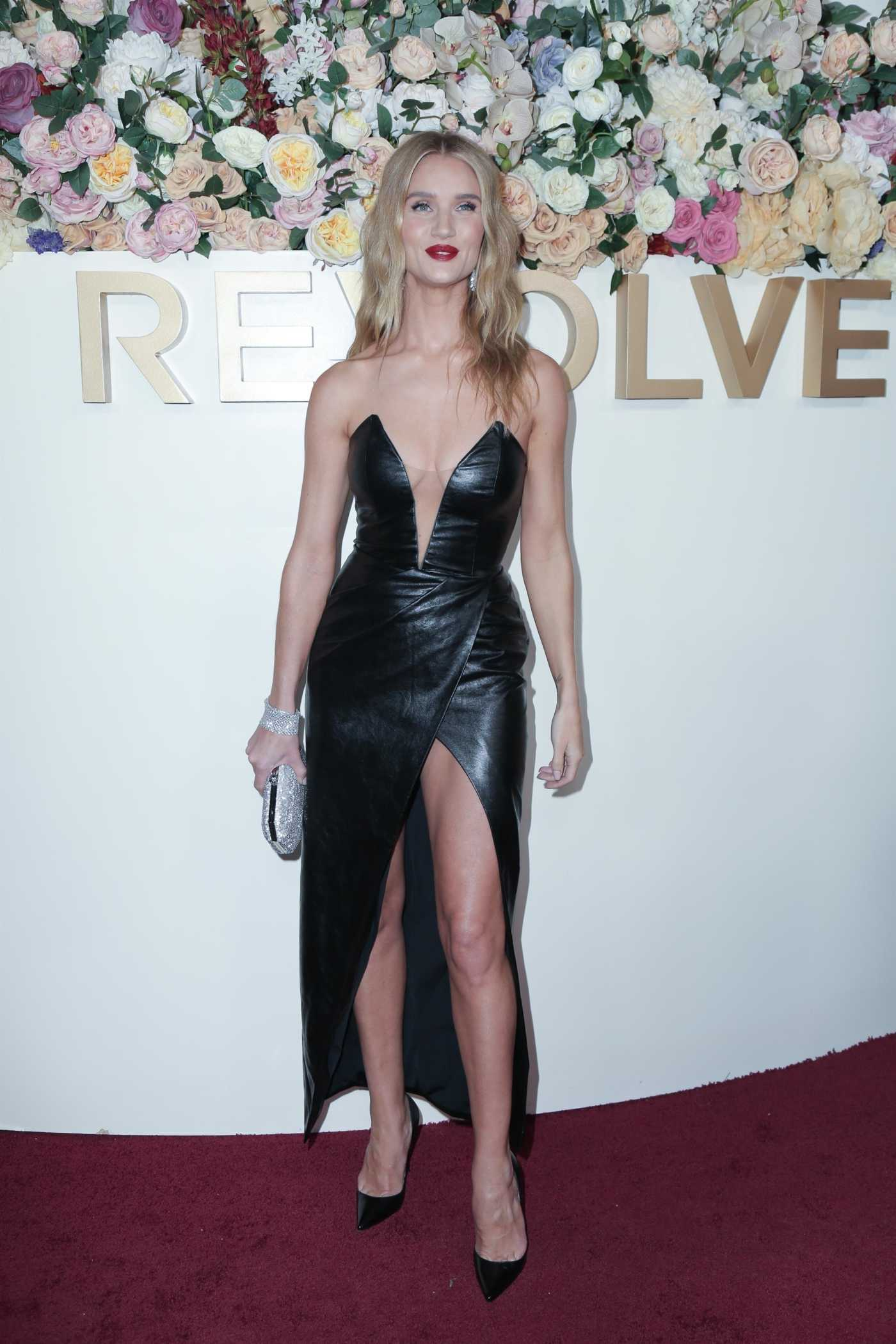 Rosie Huntington-Whiteley Attends the 3rd Annual Revolve Awards at Goya Studios in Hollywood 11/15/2019