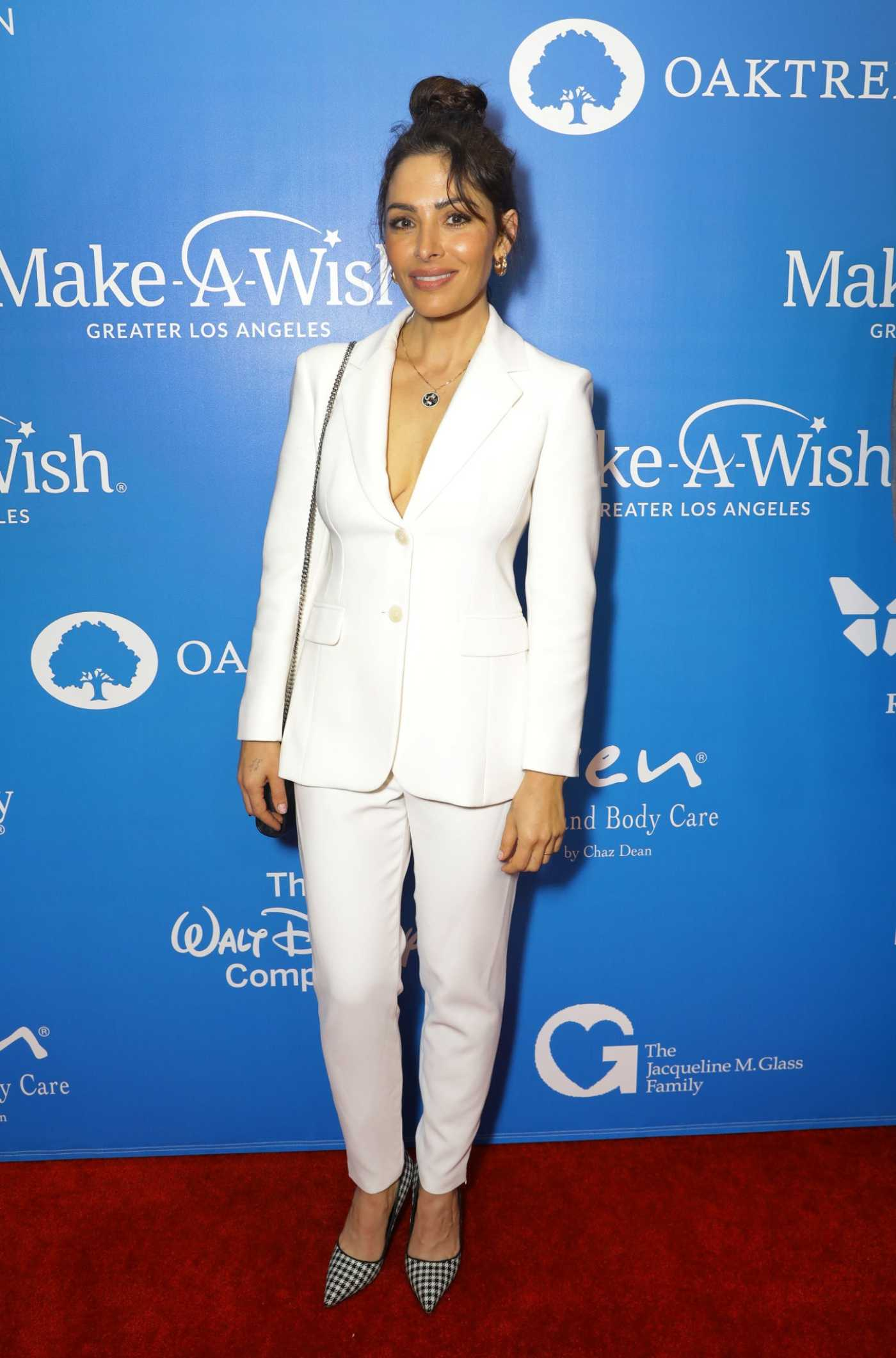 Sarah Shahi Attends 2019 Wish Gala in Beverly Hills 11/20/2019