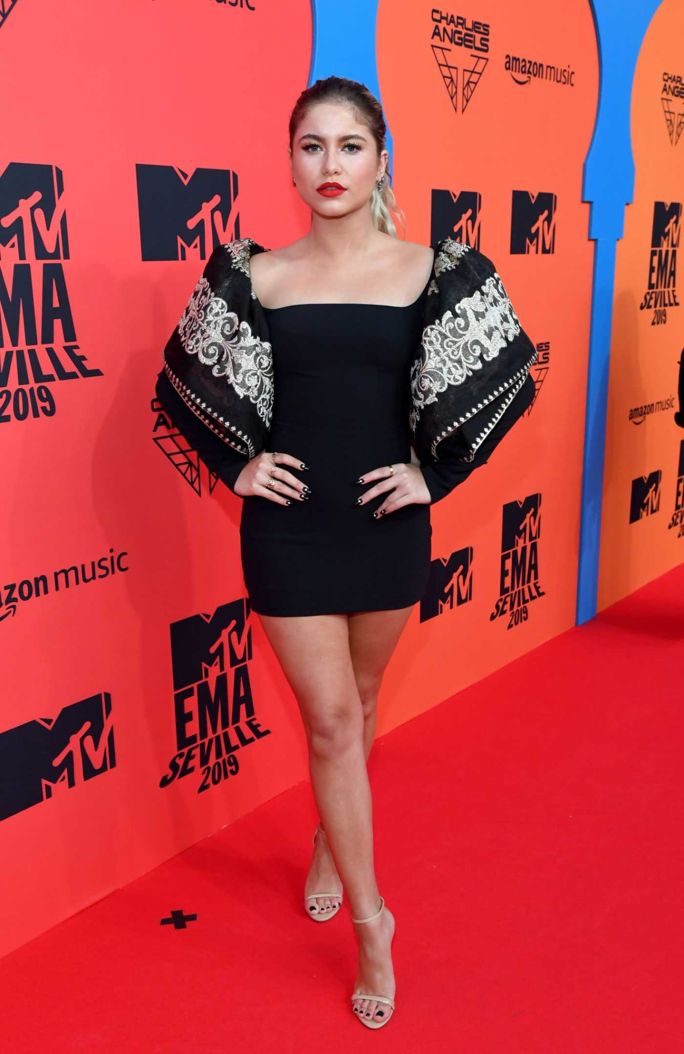 Sofia Reyes Attends MTV Europe Music Awards in Seville 11/03/2019