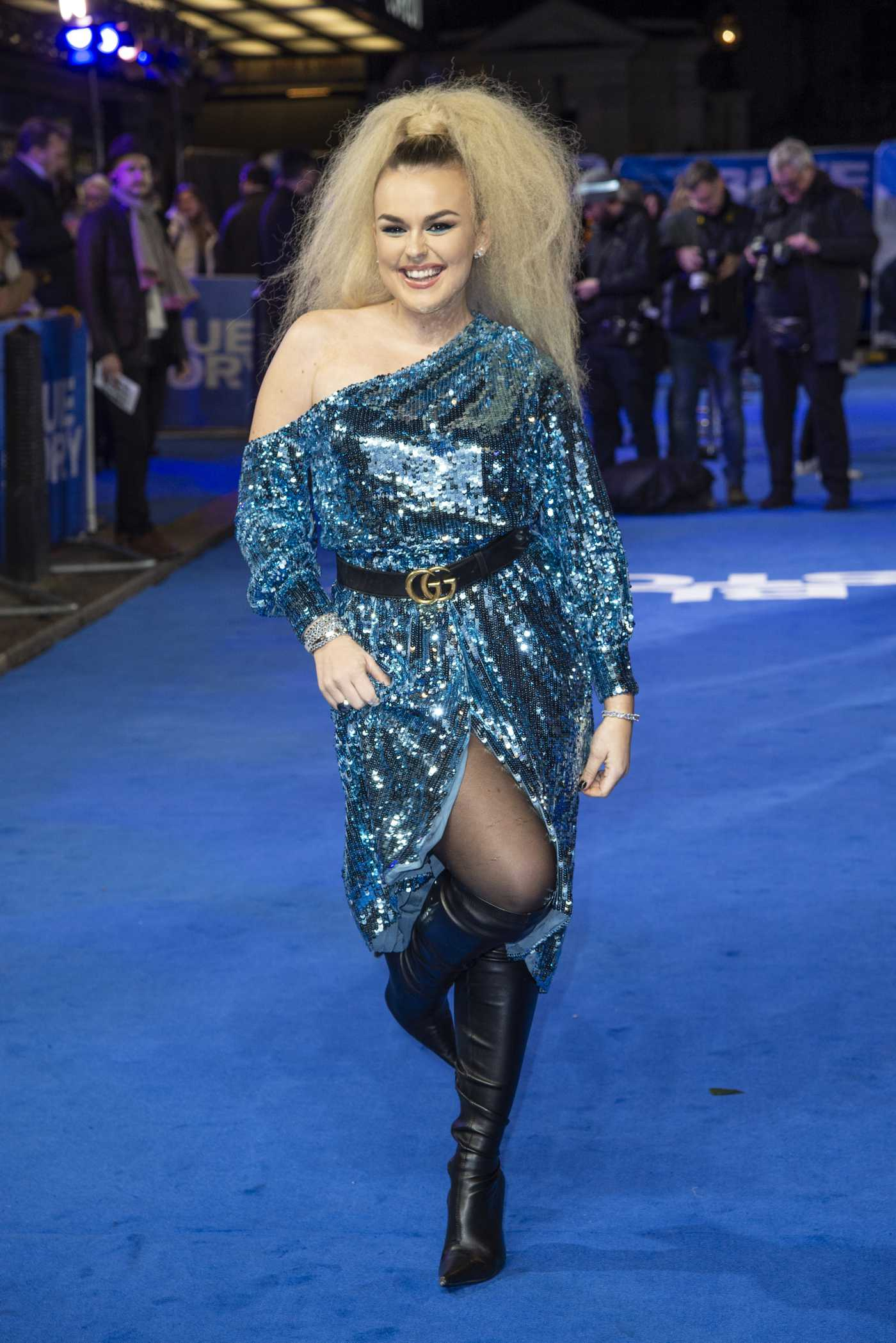 Tallia Storm Attends the Blue Story Premiere London 11/14/2019