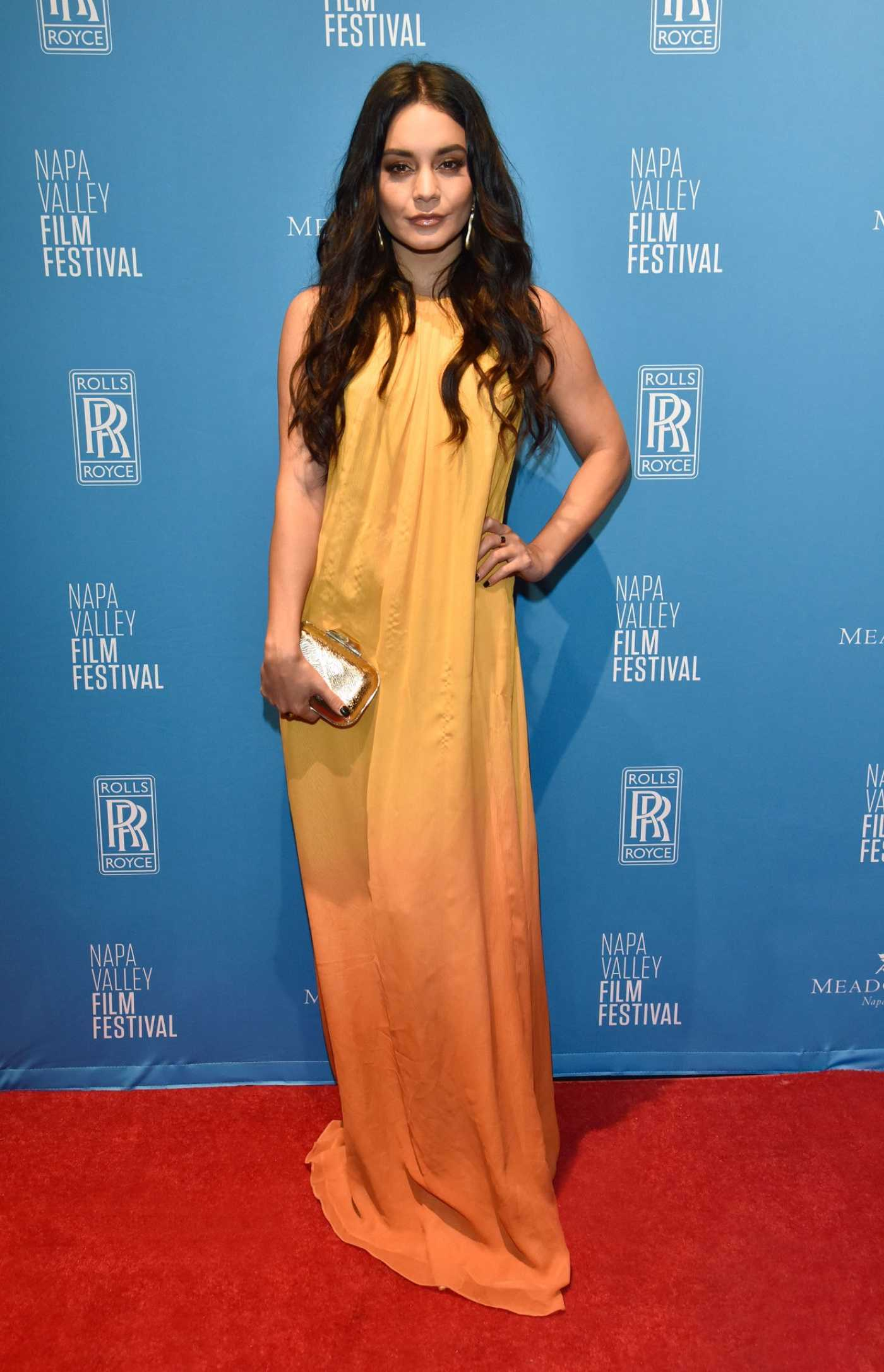 Vanessa Hudgens Attends the Rising Star Showcase During the 2019 Napa Valley Film Festival in Napa Valley 11/16/2019