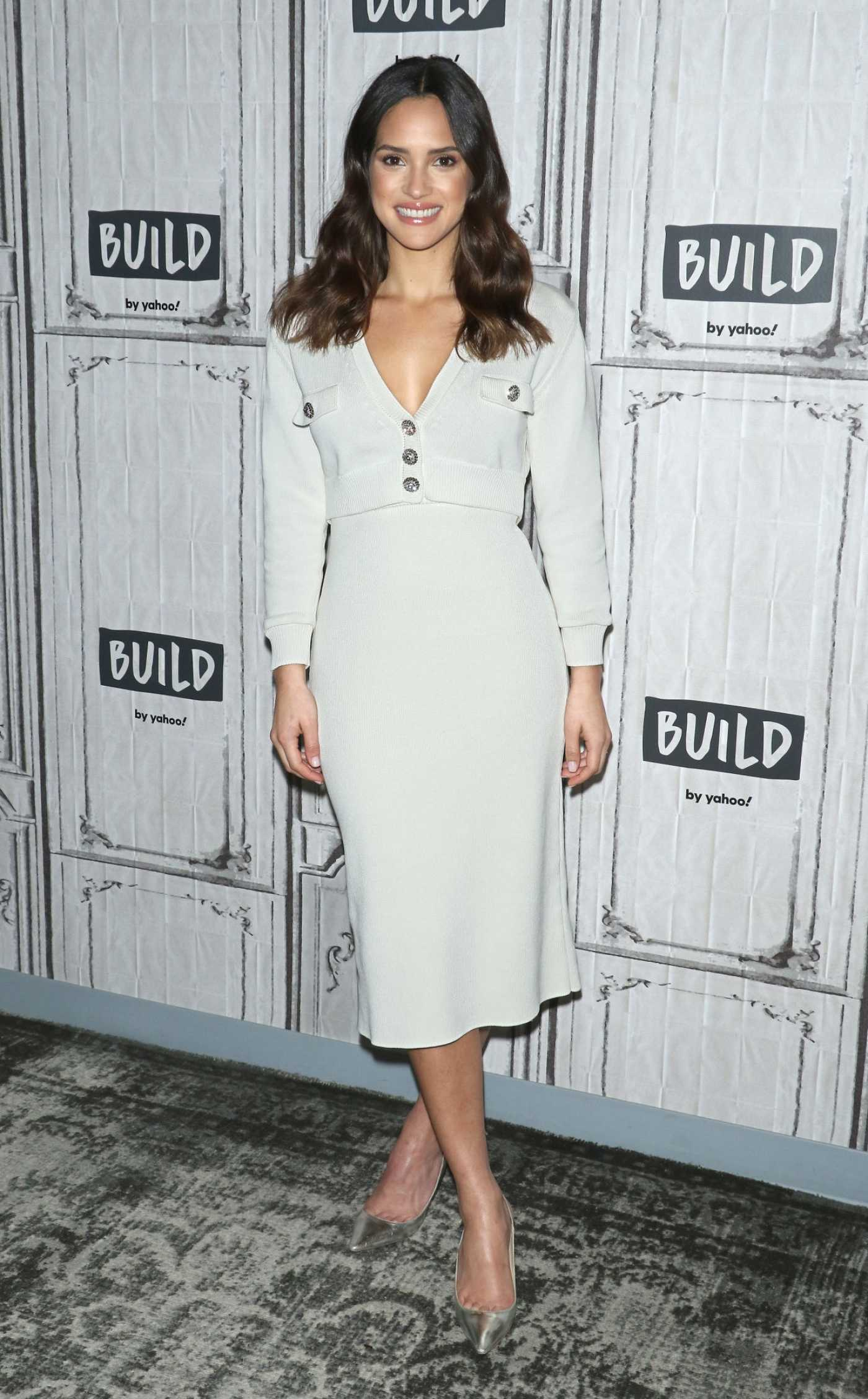 Adria Arjona Attends the Build Series in New York City 12/11/2019