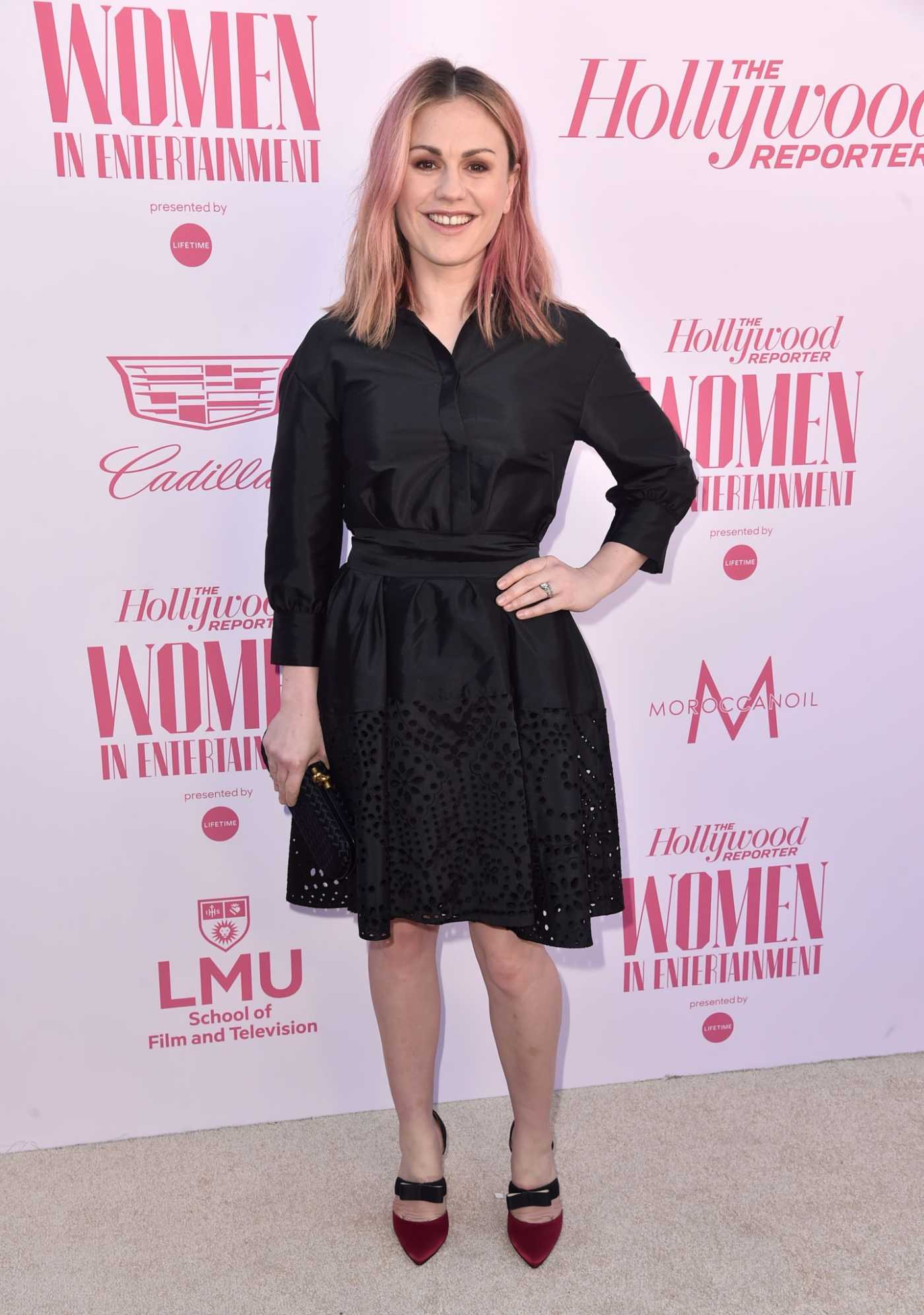 Anna Paquin Attends The Hollywood Reporter's Power 100 Women in Entertainment in Hollywood 12/11/2019