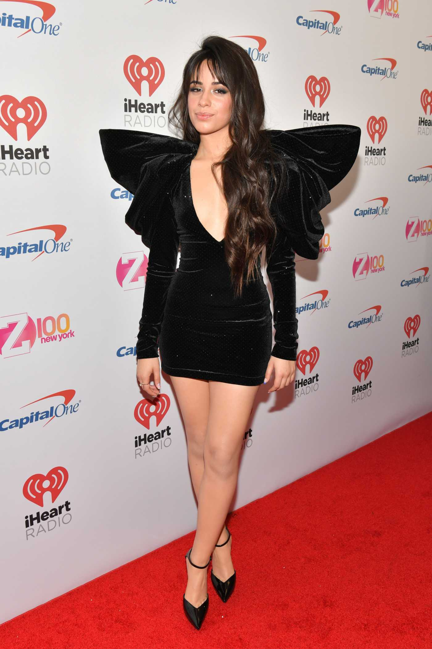 Camila Cabello Attends 2019 iHeartRadio's Z100 Jingle Ball at Madison Square Garden in New York City 12/13/2019