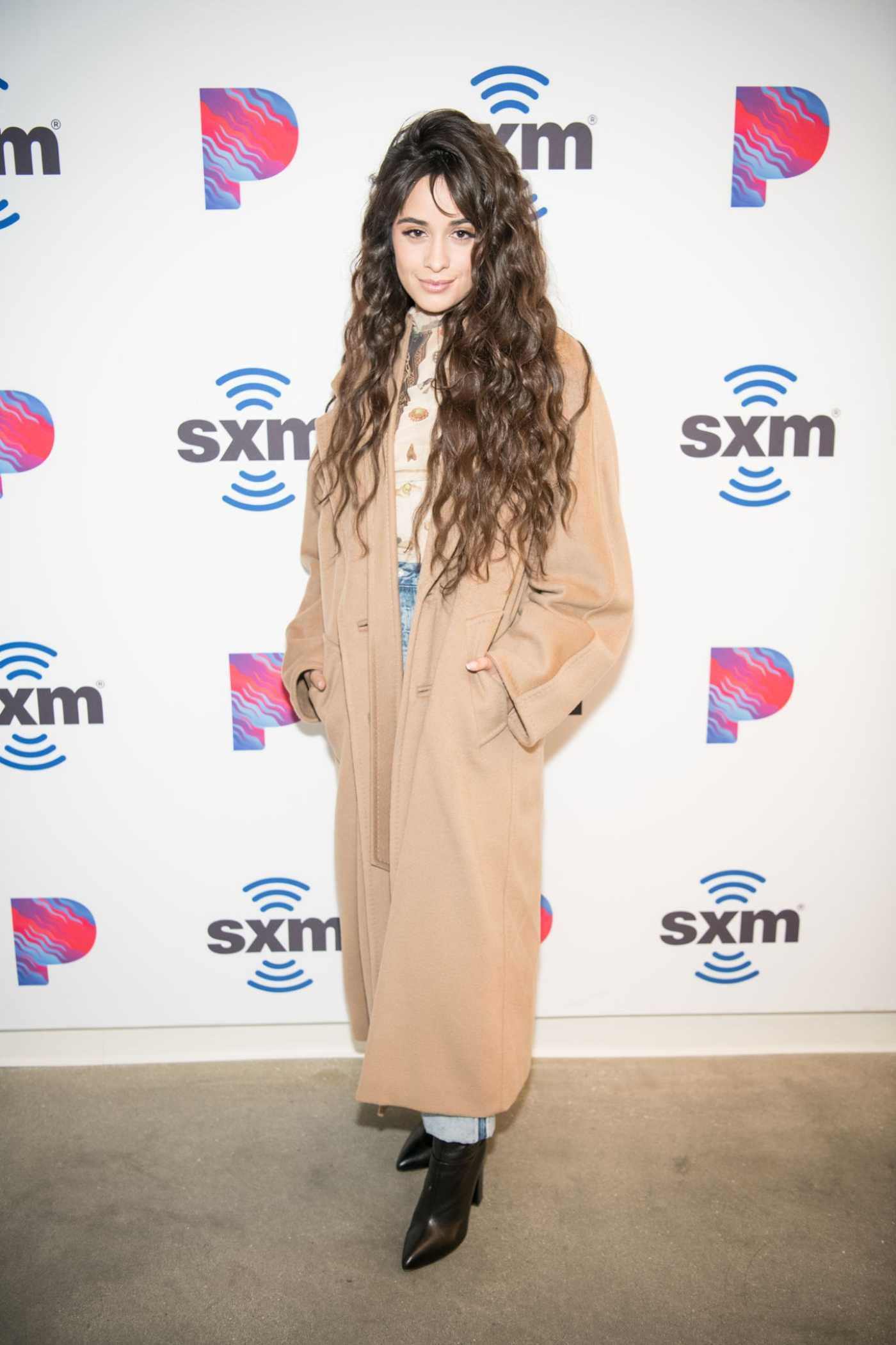 Camila Cabello Attends the SiriusXM Hollywood Studio in Los Angeles 12/06/2019