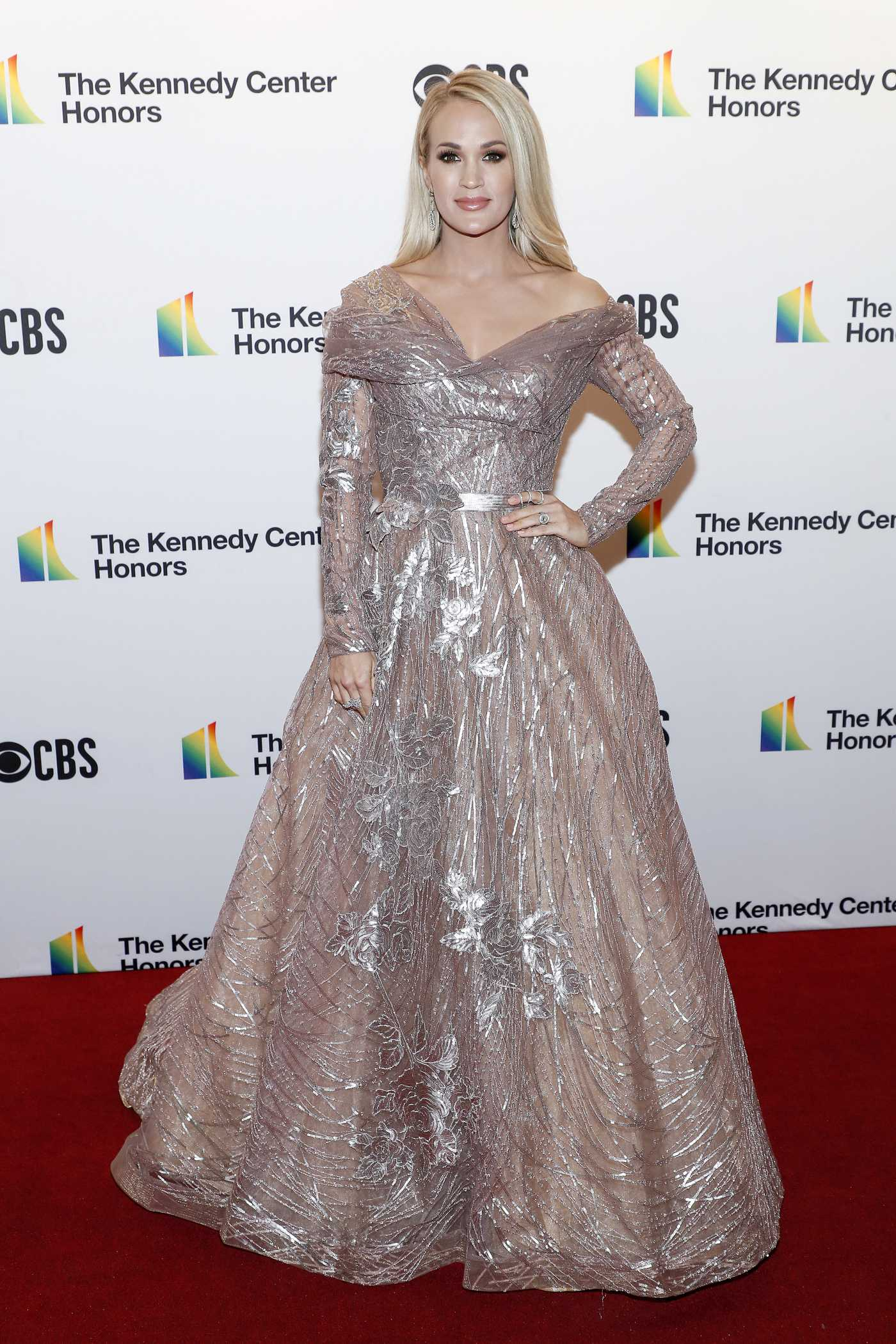 Carrie Underwood Attends 2019 Kennedy Center Honors at in Washington 12/08/2019