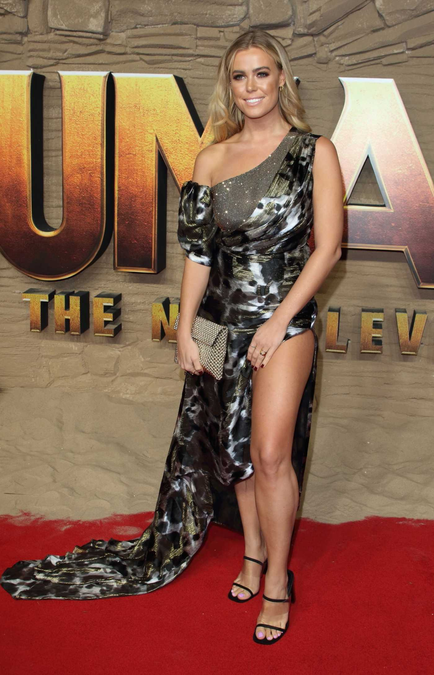 Chloe Meadows Attends Jumanji: The Next Level Premiere in London 12/05/2019