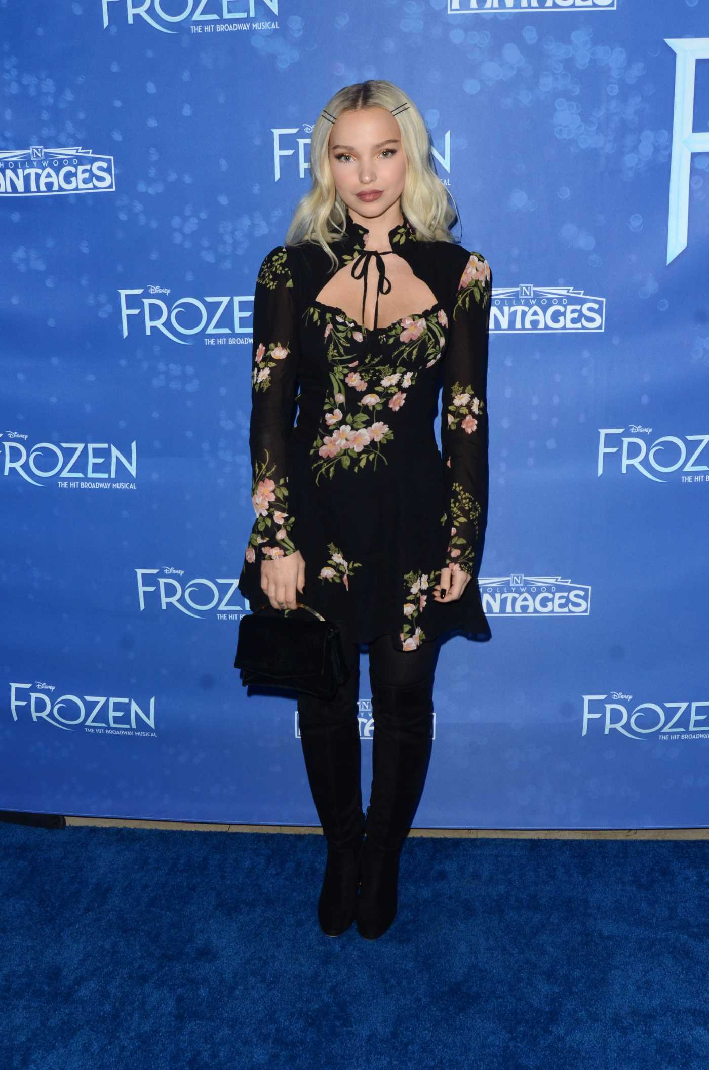 Dove Cameron Attends the Frozen Premiere at the Hollywood Pantages Theatre in Hollywood 12/06/2019