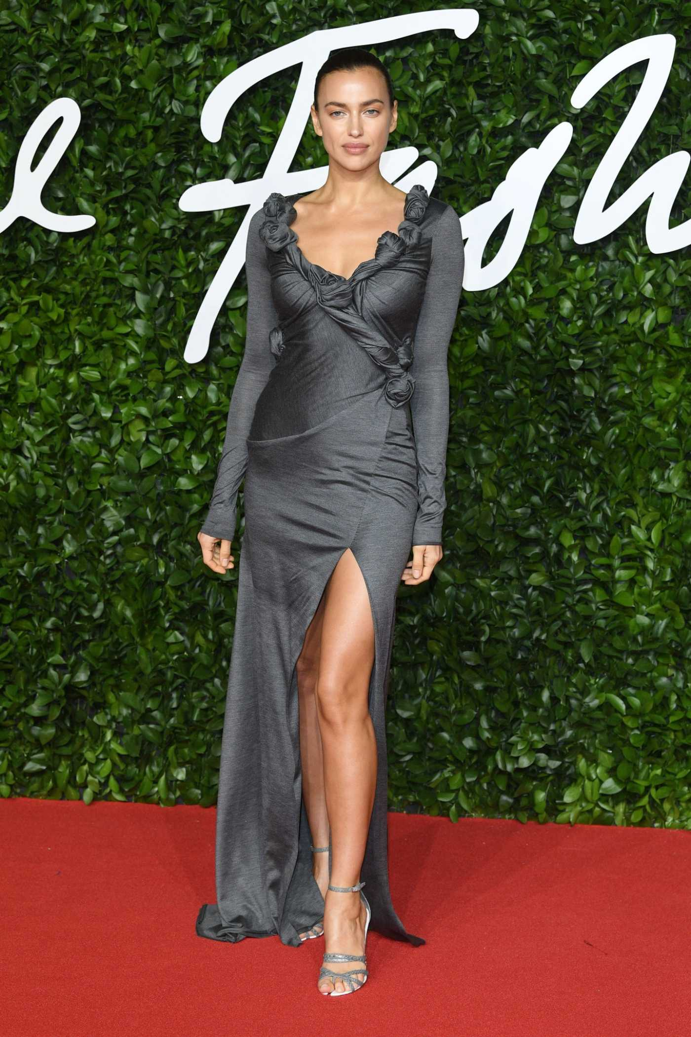 Irina Shayk Attends 2019 Fashion Awards at Royal Albert Hall in London 12/02/2019