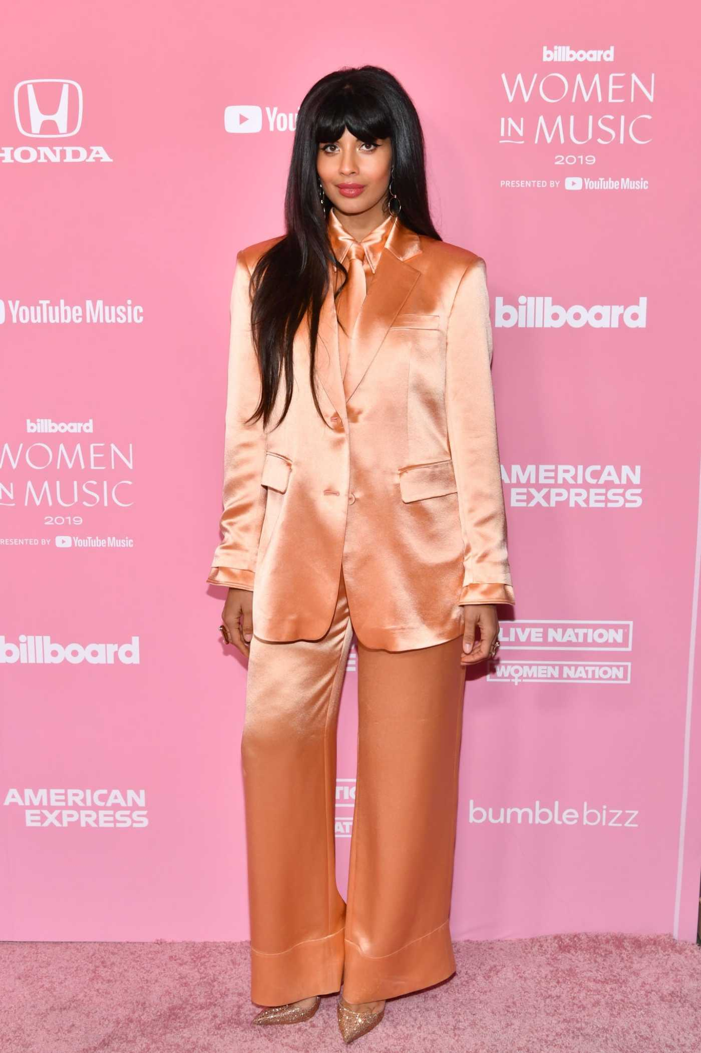 Jameela Jamil Attends 2019 Billboard Women in Music at Hollywood Palladium in Hollywood 12/12/2019