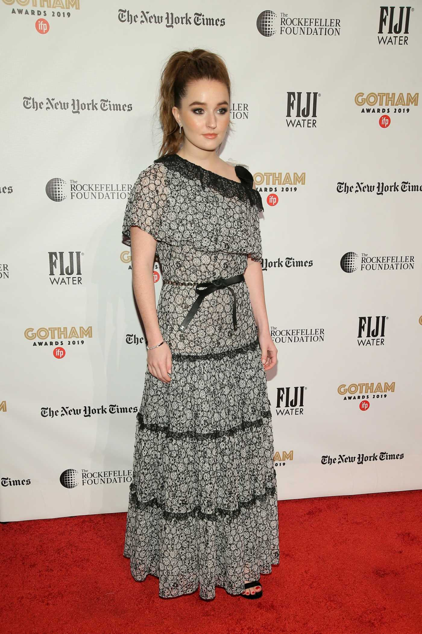 Kaitlyn Dever Attends the 29th Annual IFP Gotham Awards in New York City 12/02/2019
