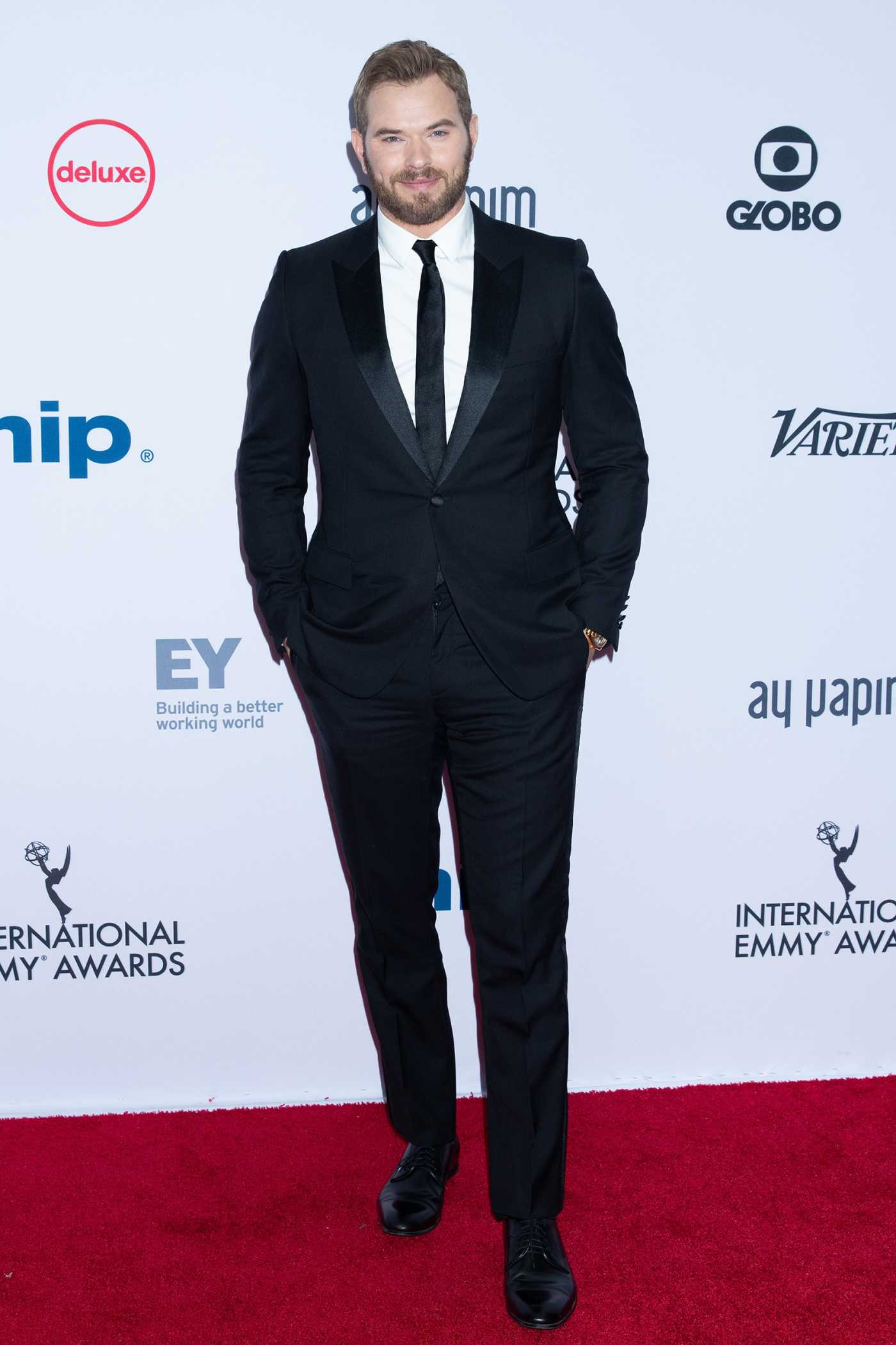 Kellan Lutz Attends the 47th International Emmy Awards in New York 11/25/2019
