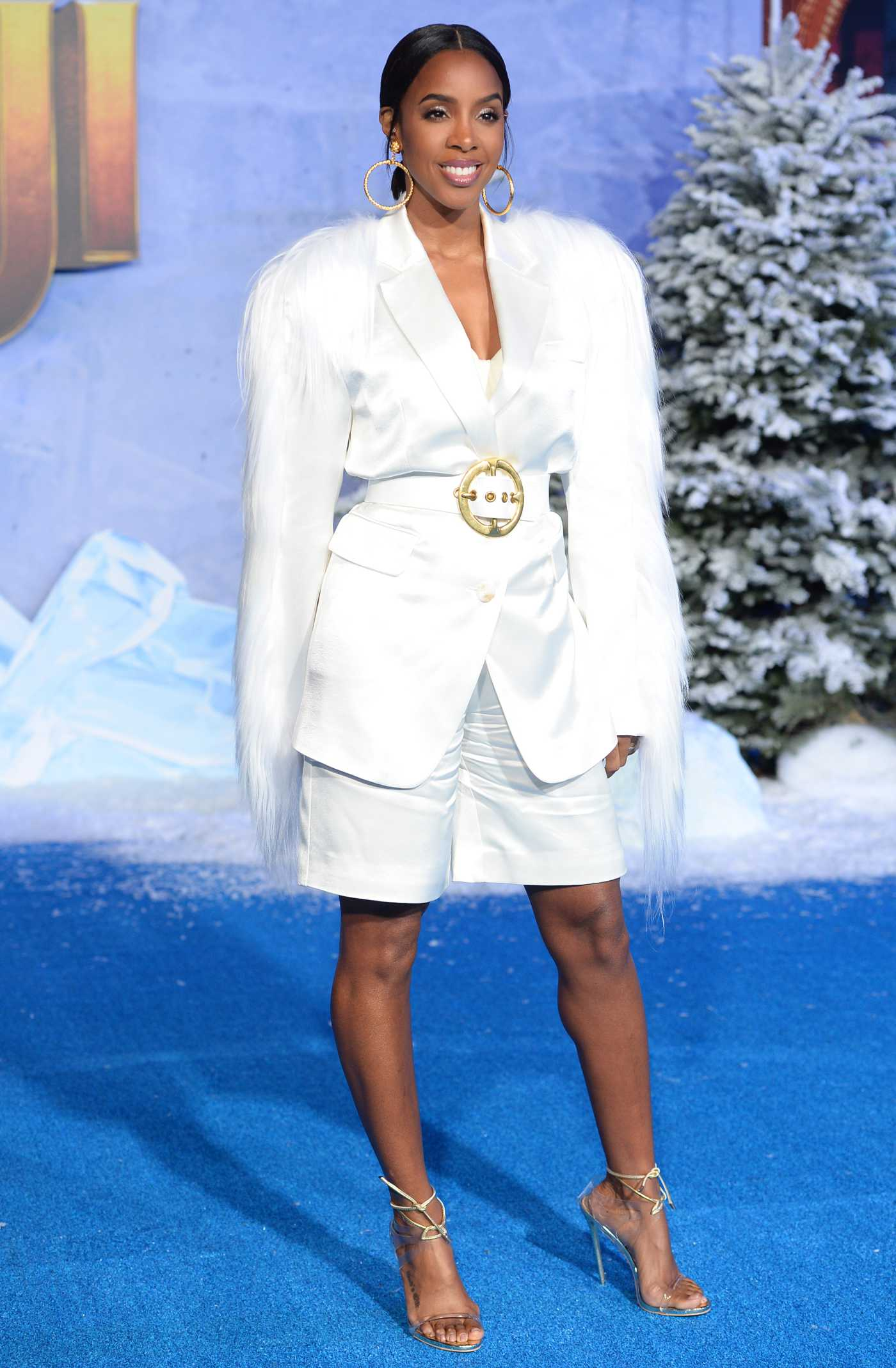 Kelly Rowland Attends Jumanji: The Next Level Premiere at TCL Chinese Theatre in Hollywood 12/09/2019