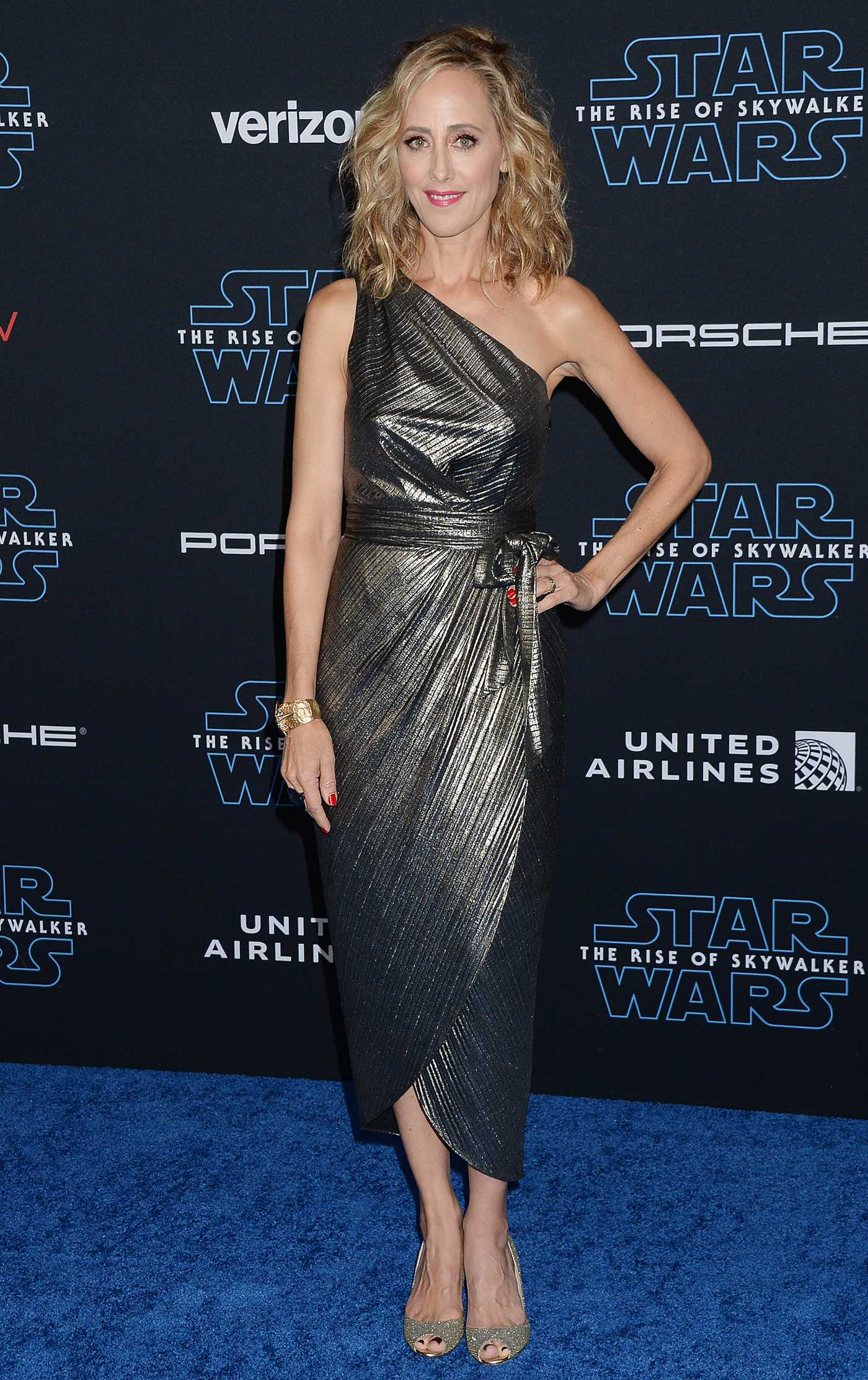 Kim Raver Attends Star Wars: The Rise of Skywalker Premiere in Los Angeles 12/16/2019