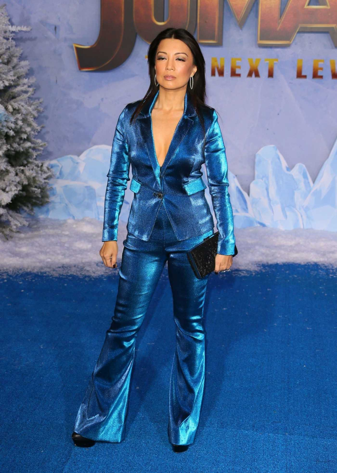 Ming-Na Wen Attends Jumanji: The Next Level Premiere at TCL Chinese Theatre in Hollywood 12/09/2019