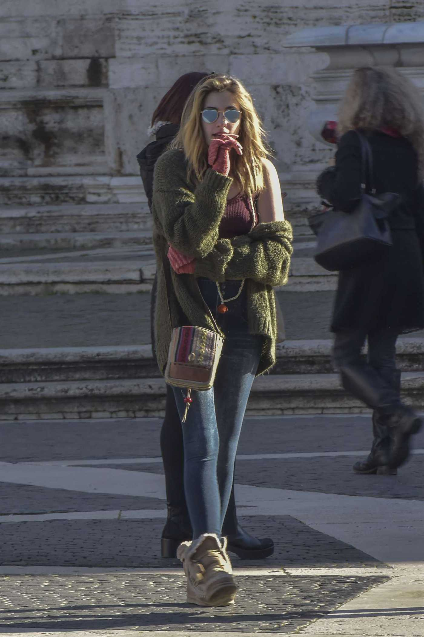 Paris Jackson Was Seen Out in Rome 12/27/2019