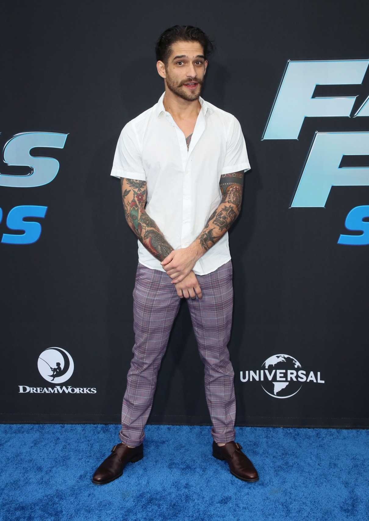 Tyler Posey Attends the Fast and Furious: Spy Racers TV Show Premiere in Los Angeles 12/07/2019
