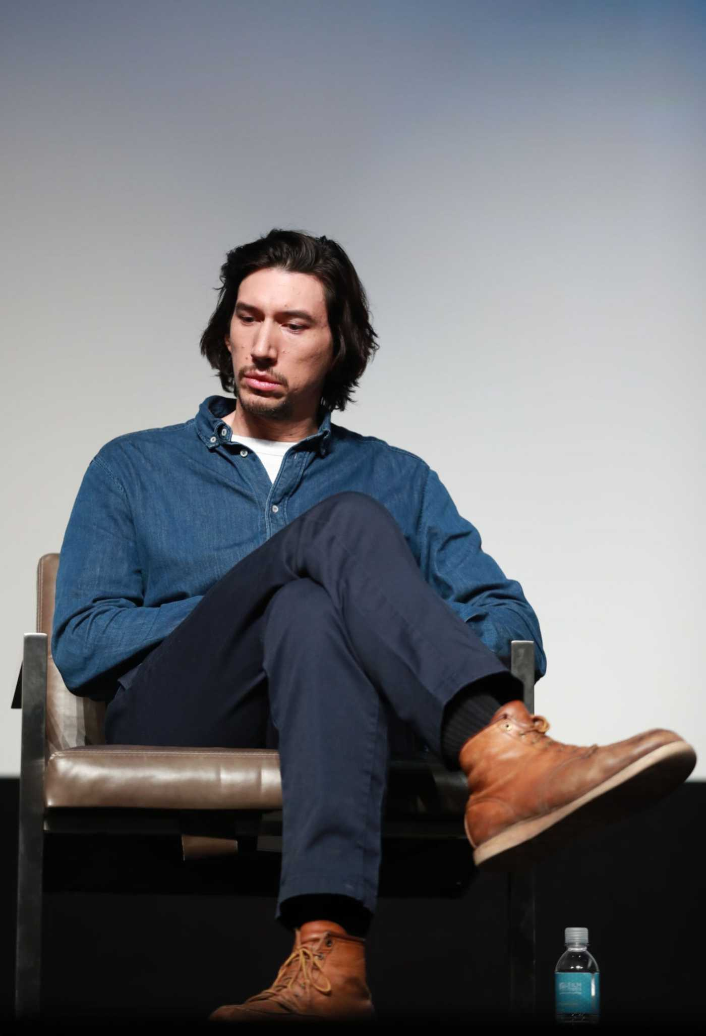 Adam Driver Attends the Marriage Story Screening During the 31st Annual Palm Springs International Film Festival in Palm Springs 01/02/2020