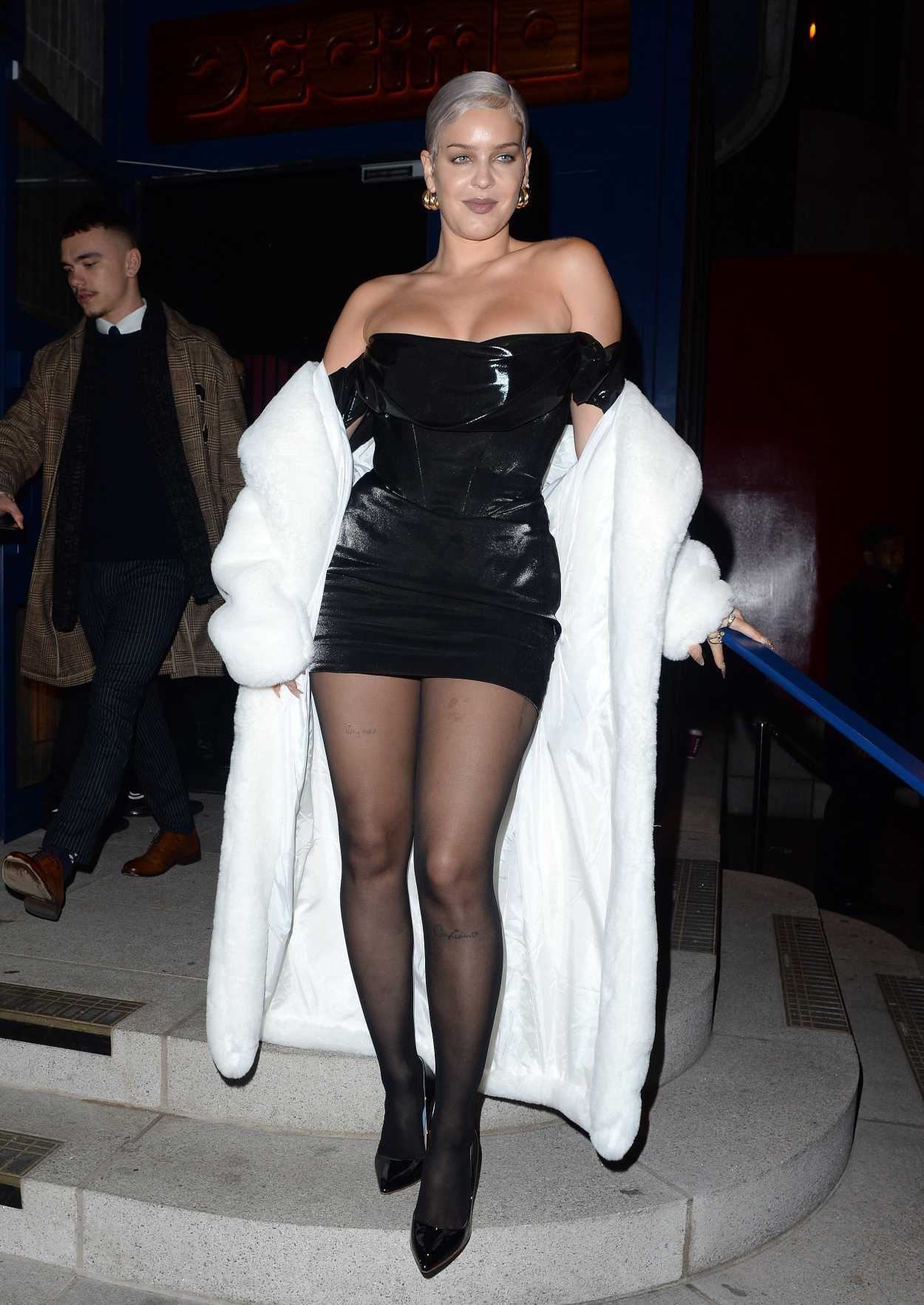 Anne-Marie Arrives at 2020 EE Rising Star Party at Standard Hotel in London 01/22/2020