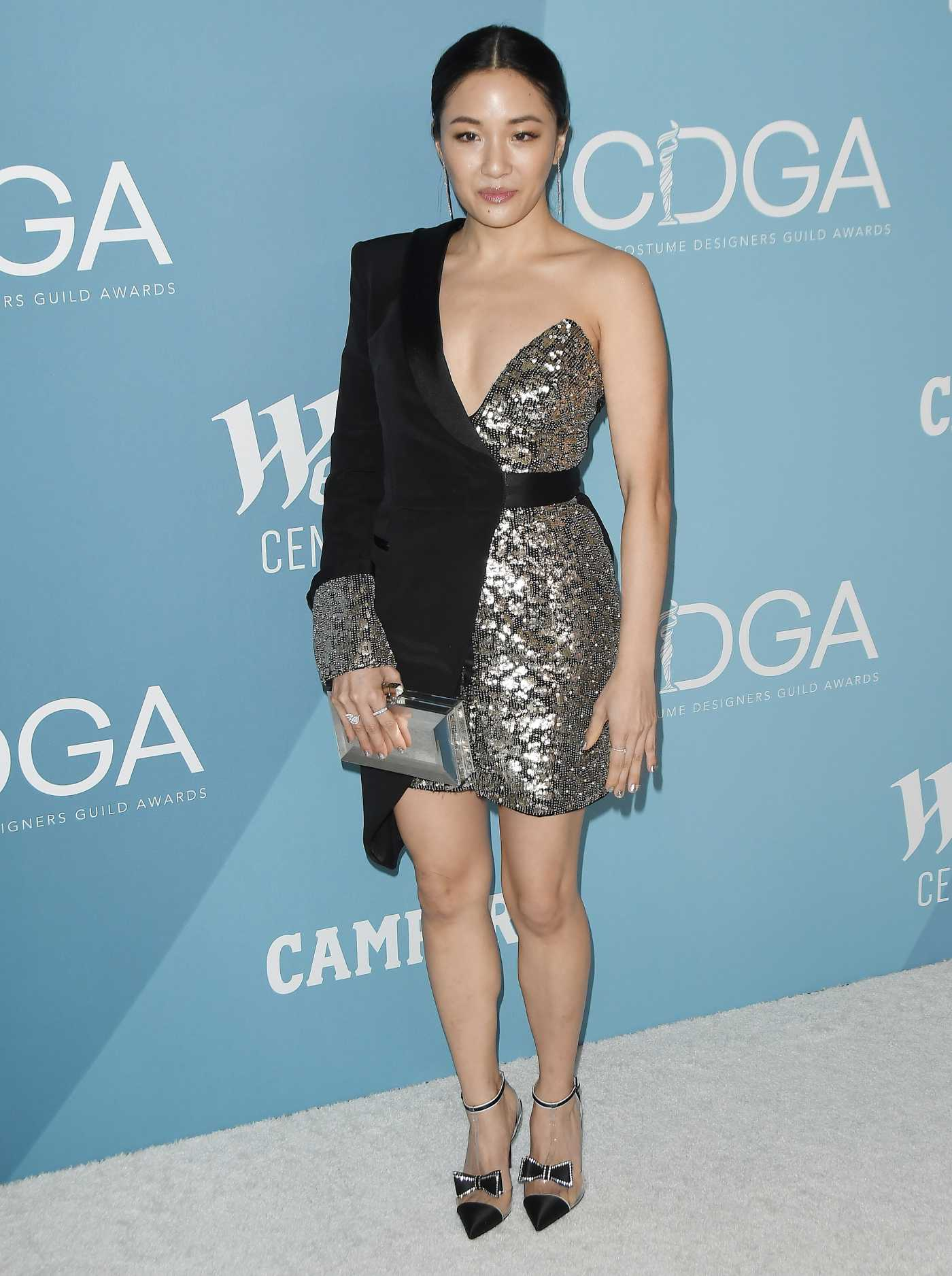 Constance Wu Attends the 22nd Costume Designers Guild Awards in Beverly Hills 01/28/2020
