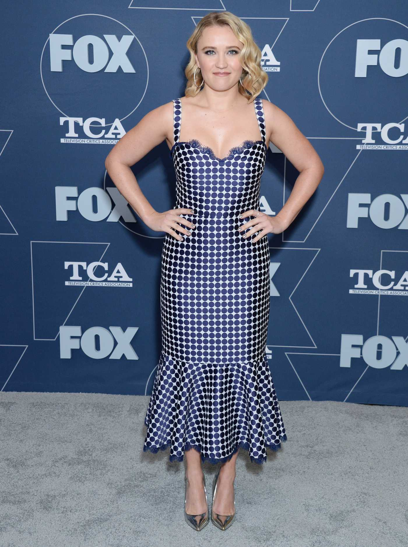 Emily Osment Attends 2020 Fox TCA Winter Press Tour All-Star Party in Pasadena 01/07/2020
