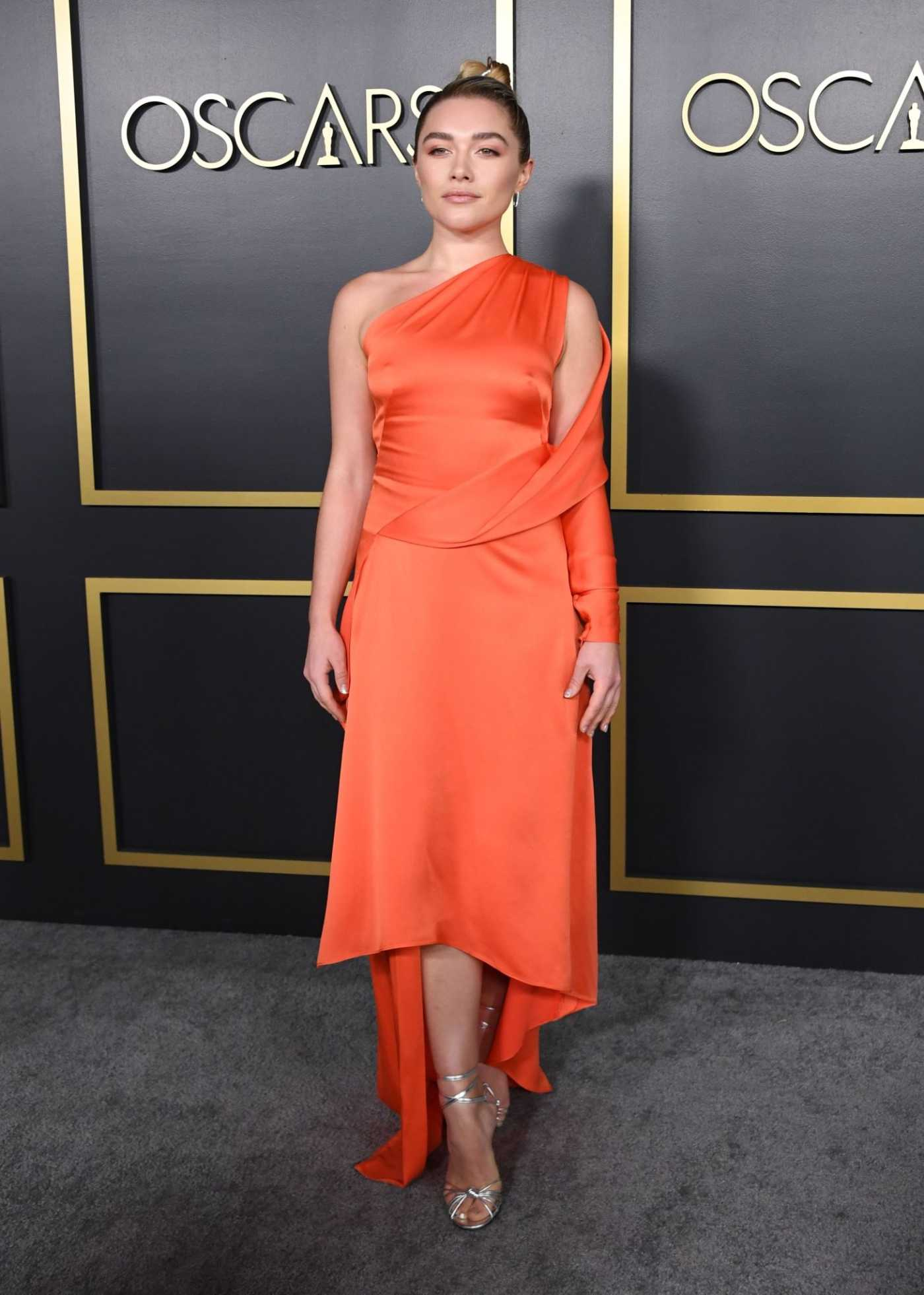 Florence Pugh Attends the 92nd Oscars Nominees Luncheon in Hollywood 01/27/2020
