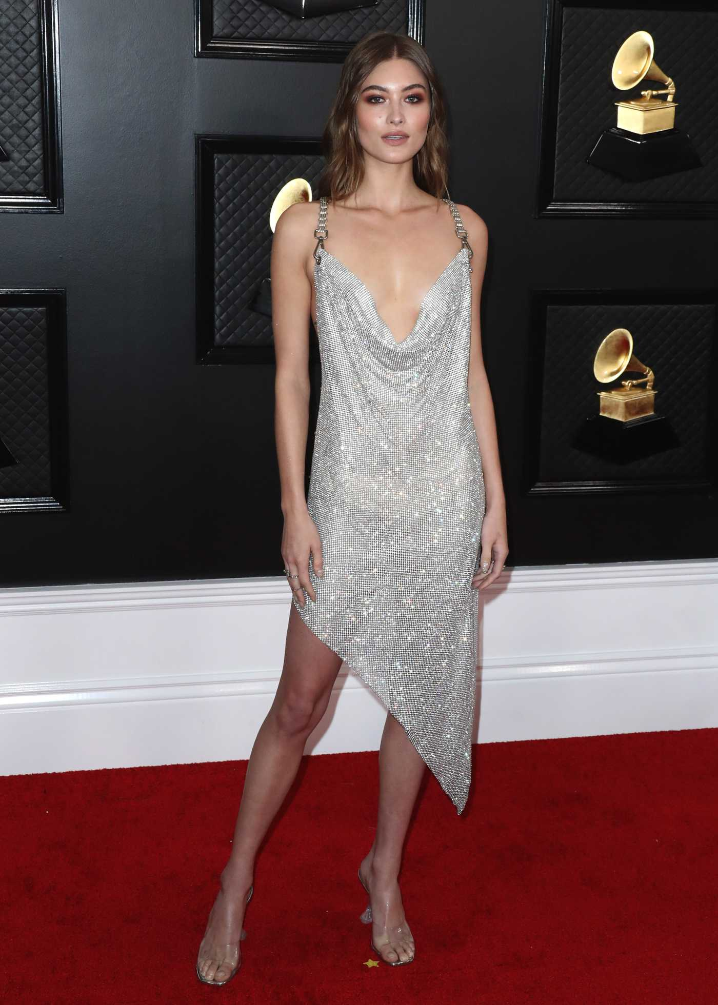 Grace Elizabeth Attends the 62nd Annual Grammy Awards at Staples Center in Los Angeles 01/26/2020