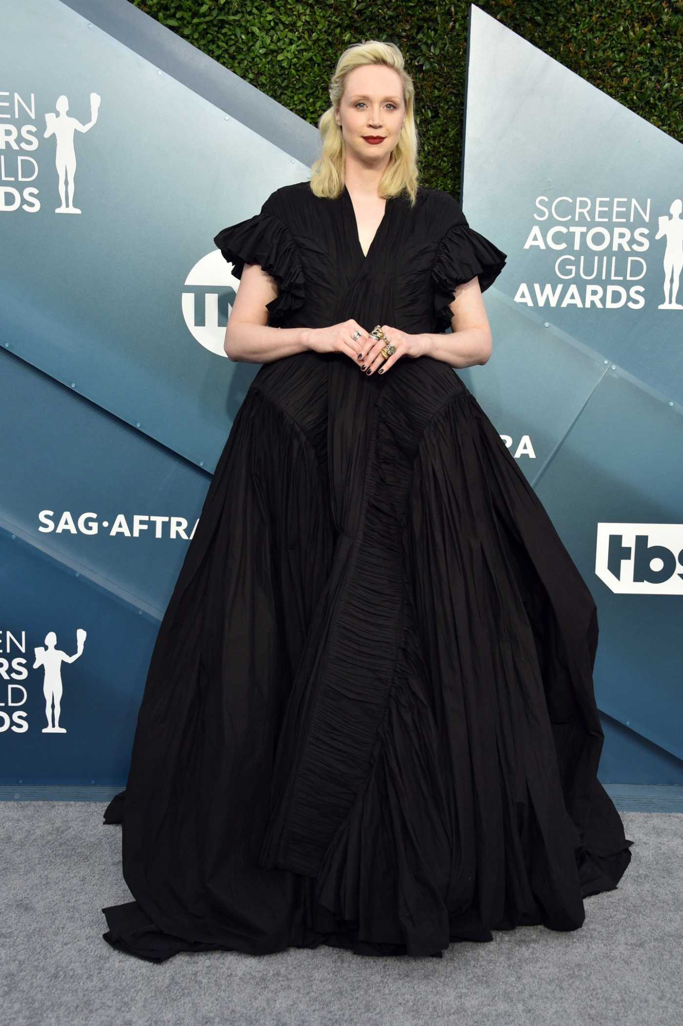 Gwendoline Christie Attends the 26th Annual Screen Actors Guild Awards in Los Angeles 01/19/2020