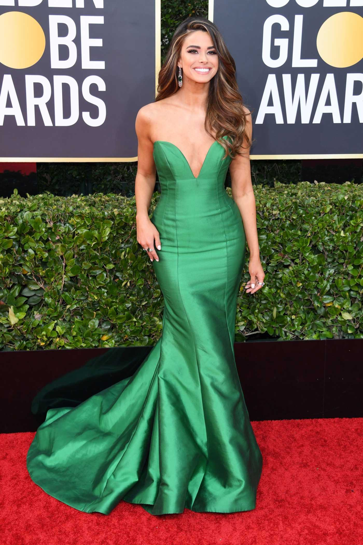 Jennifer Lahmers Attends the 77th Annual Golden Globe Awards at the Beverly Hilton Hotel in Beverly Hills 01/05/2020