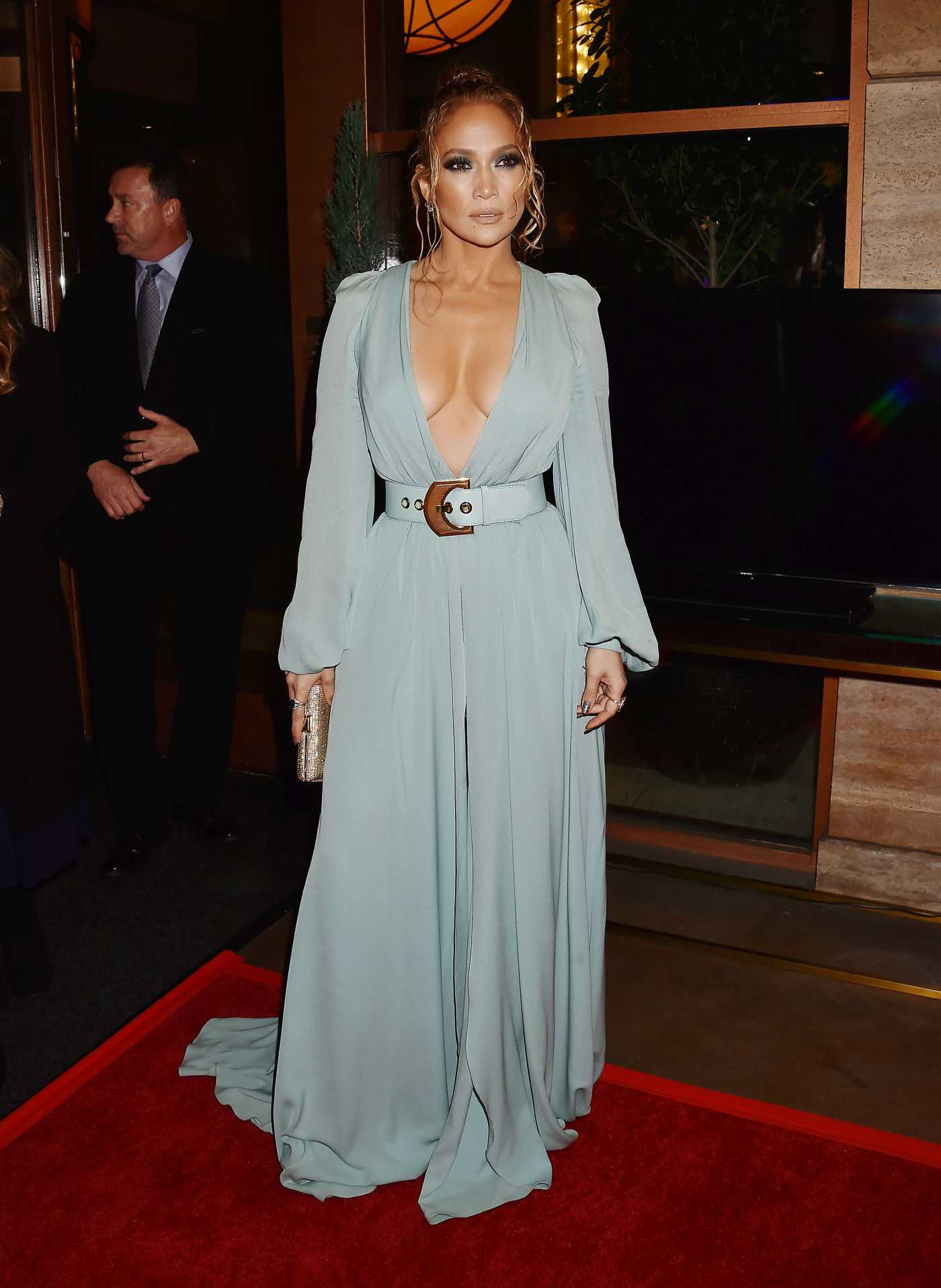 Jennifer Lopez Attends 2020 Los Angeles Film Critics Association Awards in LA 01/11/2020