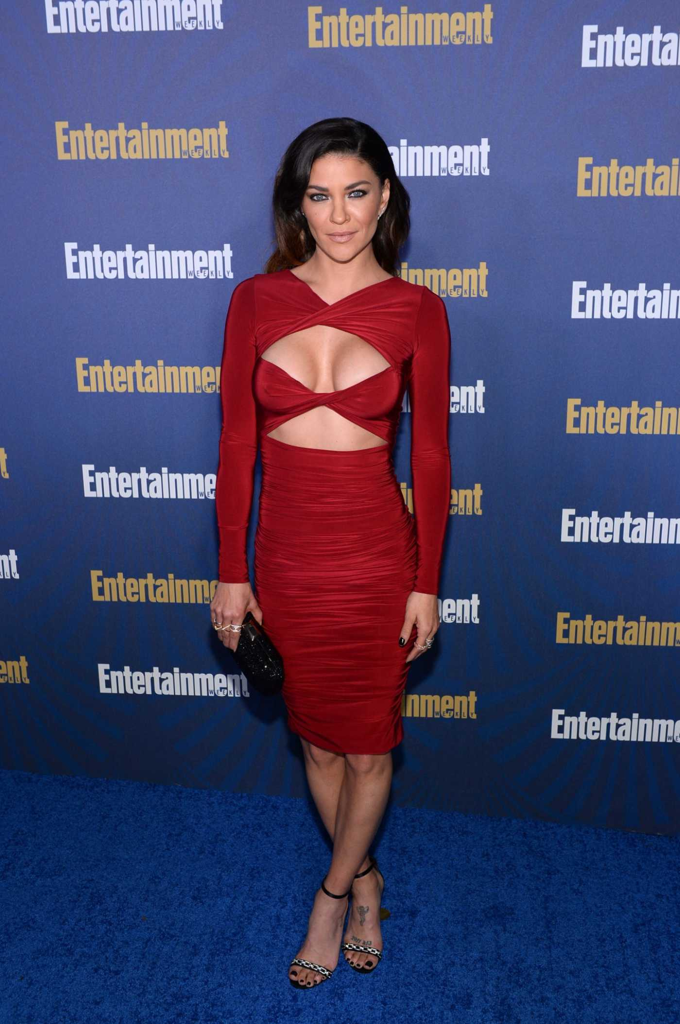 Jessica Szohr Attends 2020 Entertainment Weekly Celebrates the SAG Award Nominees in Los Angeles 01/18/2020