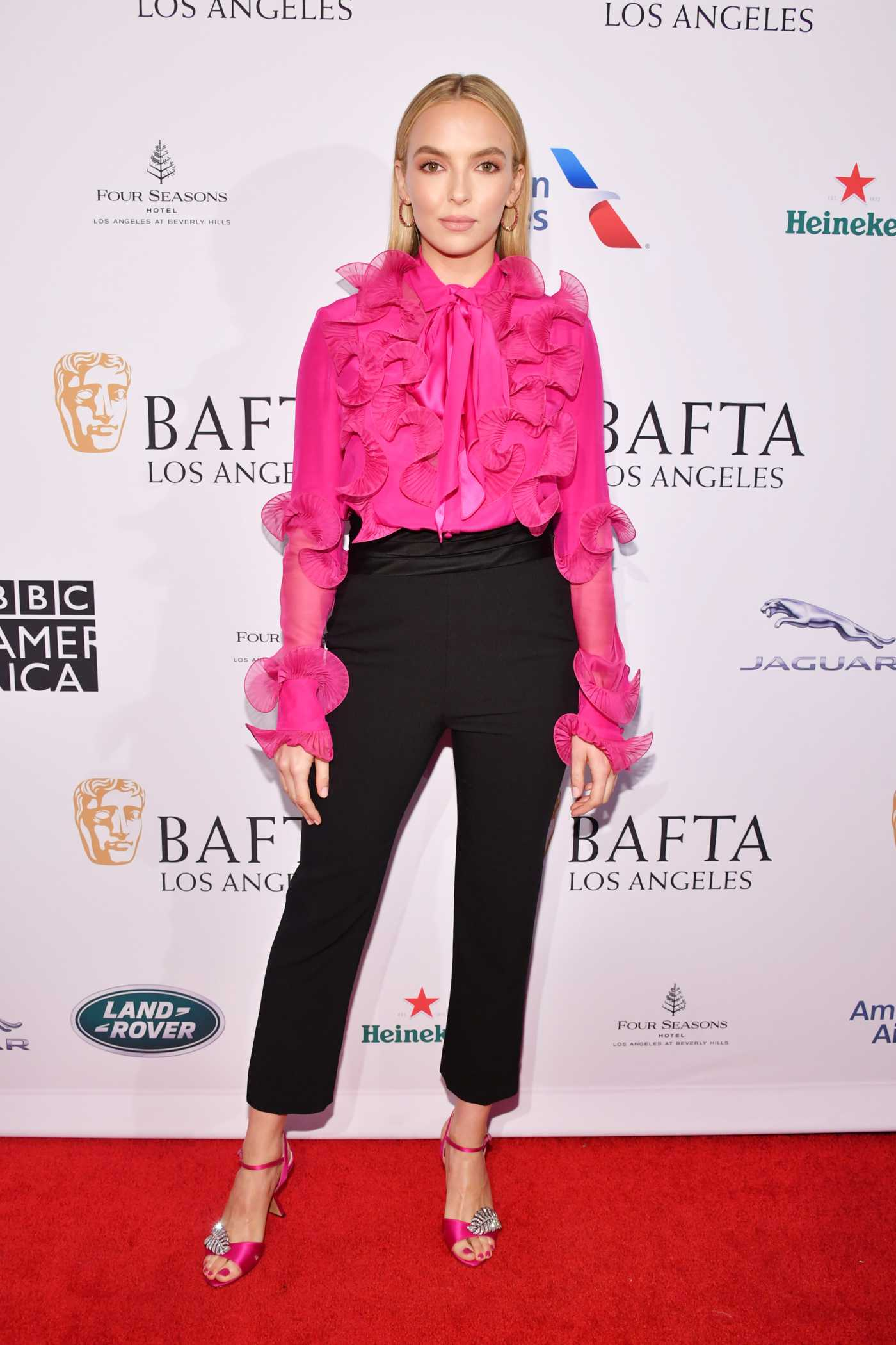 Jodie Comer Attends the BAFTA Los Angeles Tea Party in Los Angeles 04/01/2020