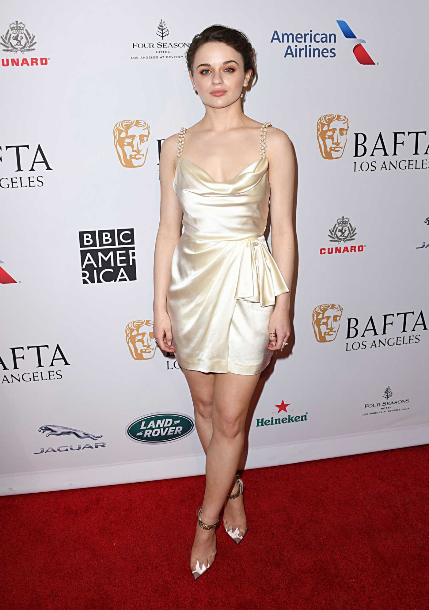 Joey King Attends the BAFTA Los Angeles Tea Party in Los Angeles 04/01/2020