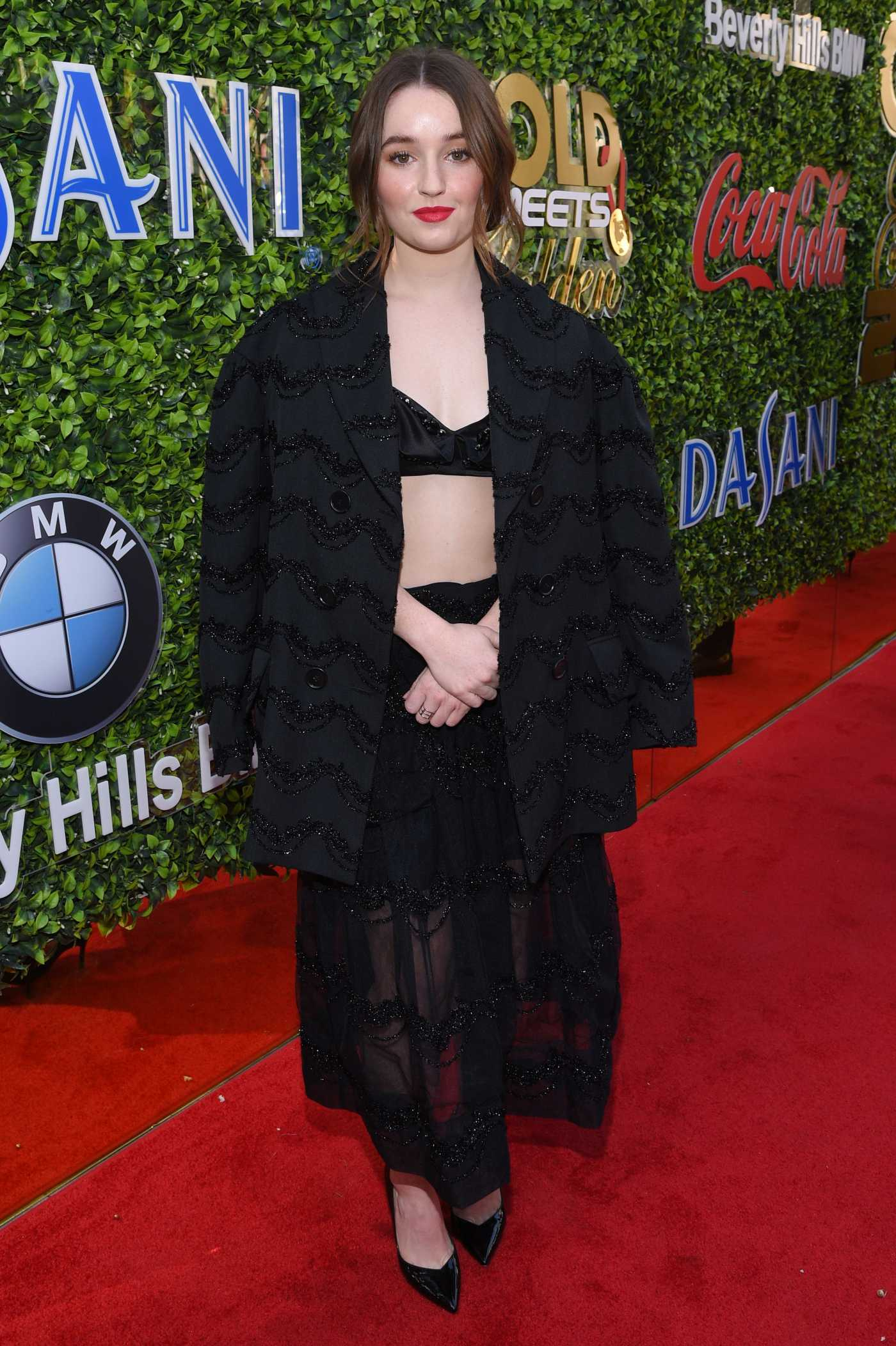 Kaitlyn Dever Attends the 7th Annual Gold Meets Golden in Los Angeles 01/04/2020