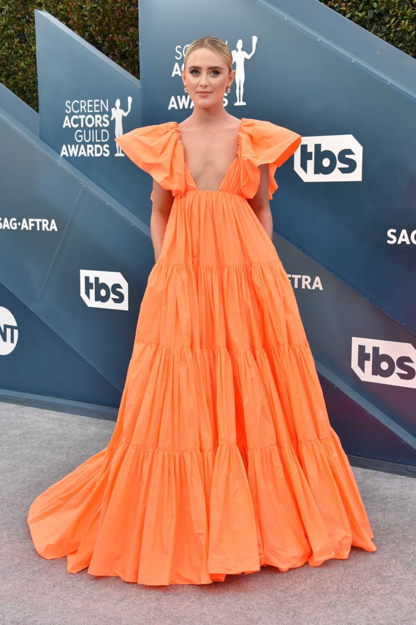 Kathryn Newton Attends the 26th Annual Screen Actors Guild Awards in Los Angeles 01/19/2020