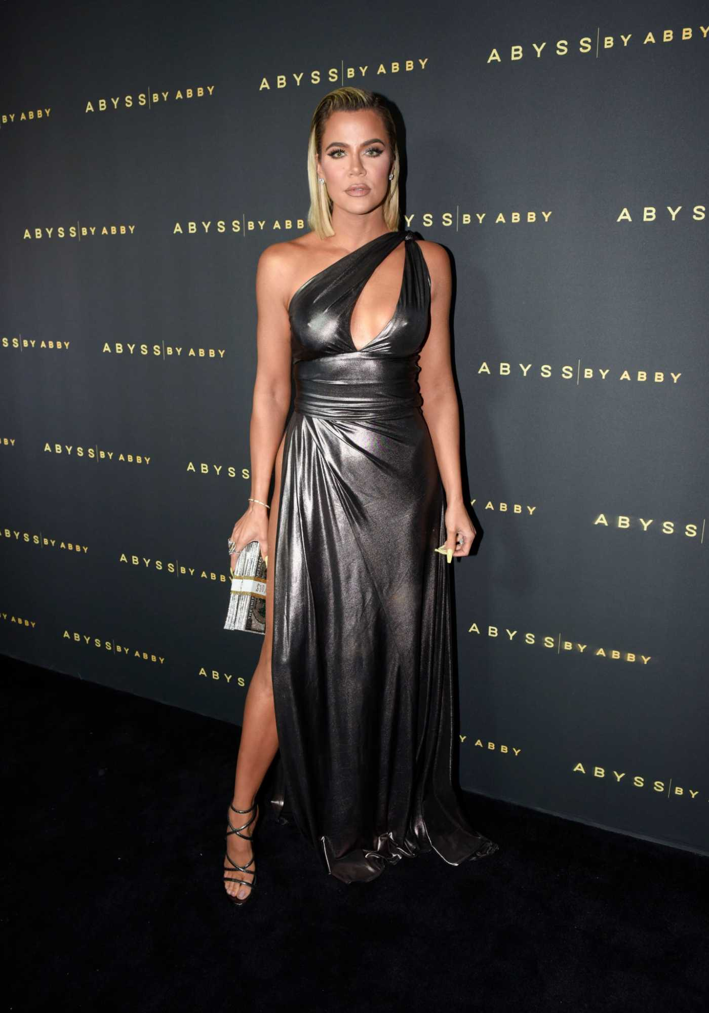 Khloe Kardashian Attends Abyss By Abby Arabian Nights Collection Launch Party in Los Angeles 01/21/2020