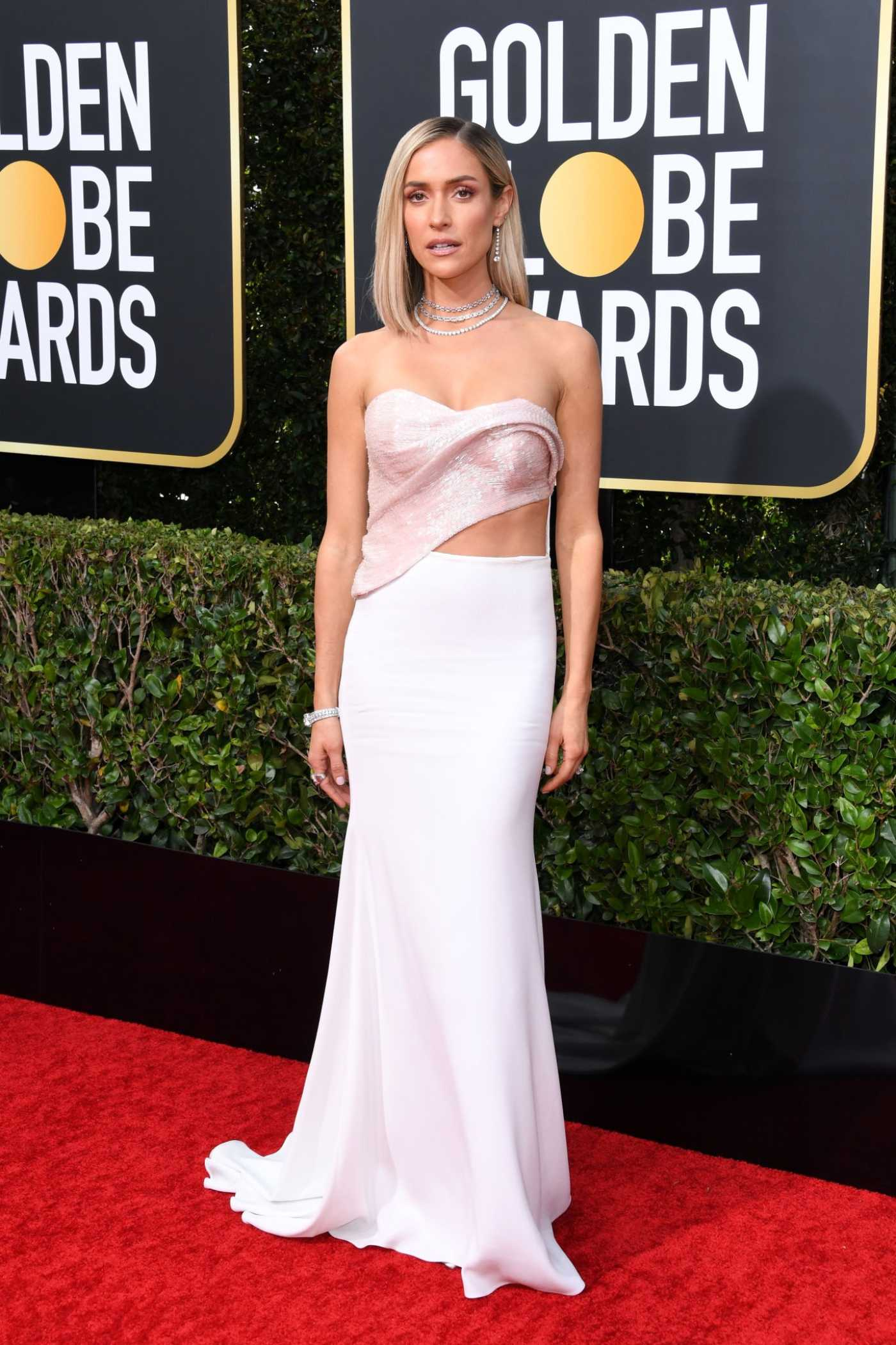 Kristin Cavallari Attends the 77th Annual Golden Globe Awards at the Beverly Hilton Hotel in Beverly Hills 01/05/2020