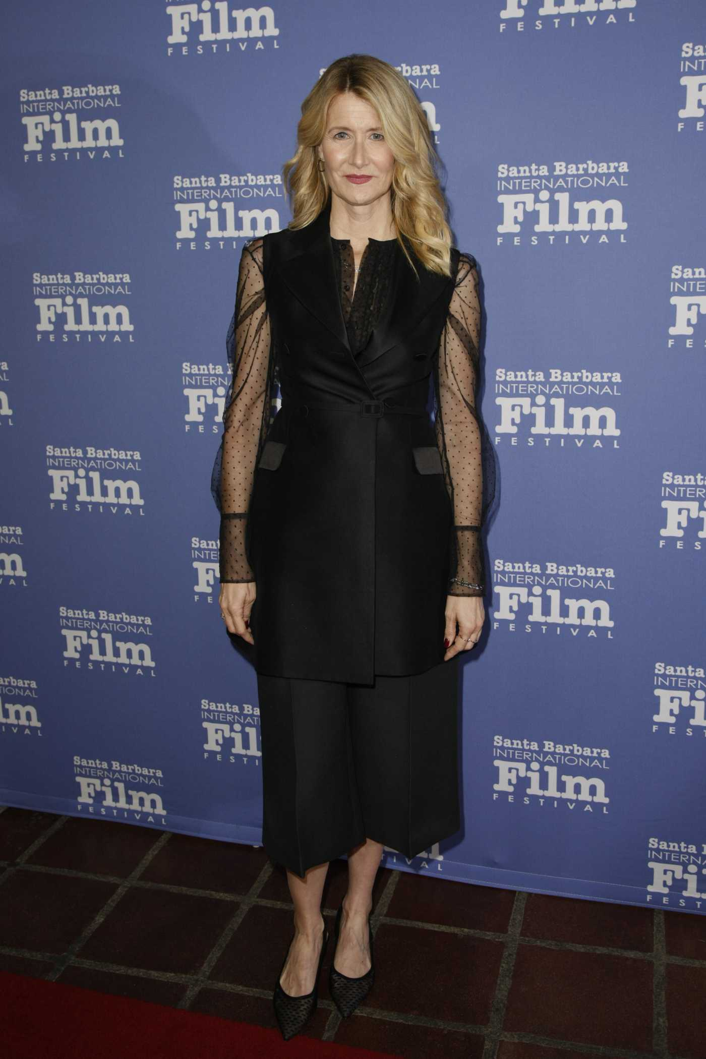 Laura Dern Attends the Cinema Vangaurd Award During the 35th Annual Santa Barbara International Film Festival in Santa Barbara 01/21/2020