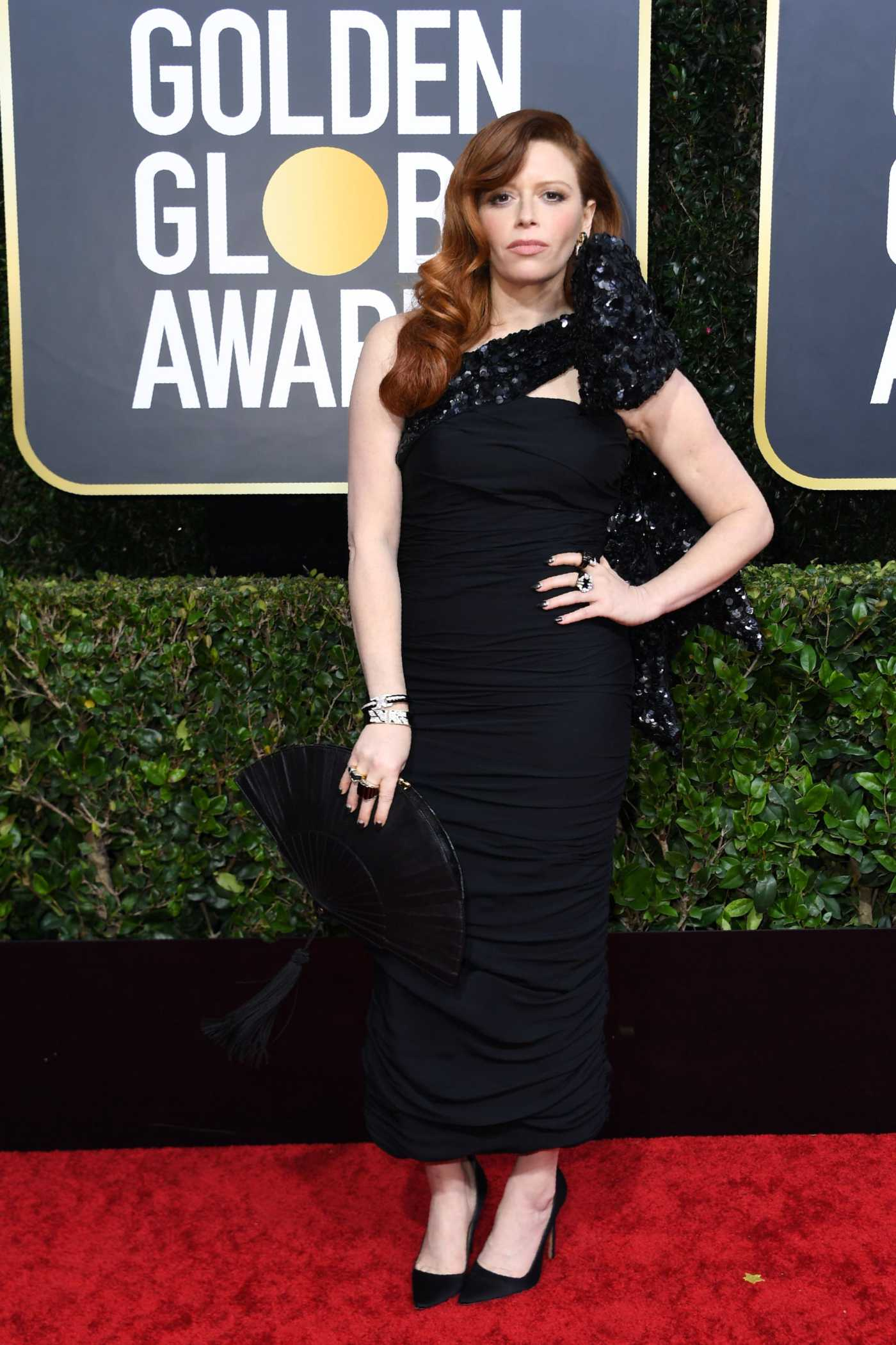 Natasha Lyonne Attends the 77th Annual Golden Globe Awards at the Beverly Hilton Hotel in Beverly Hills 01/05/2020